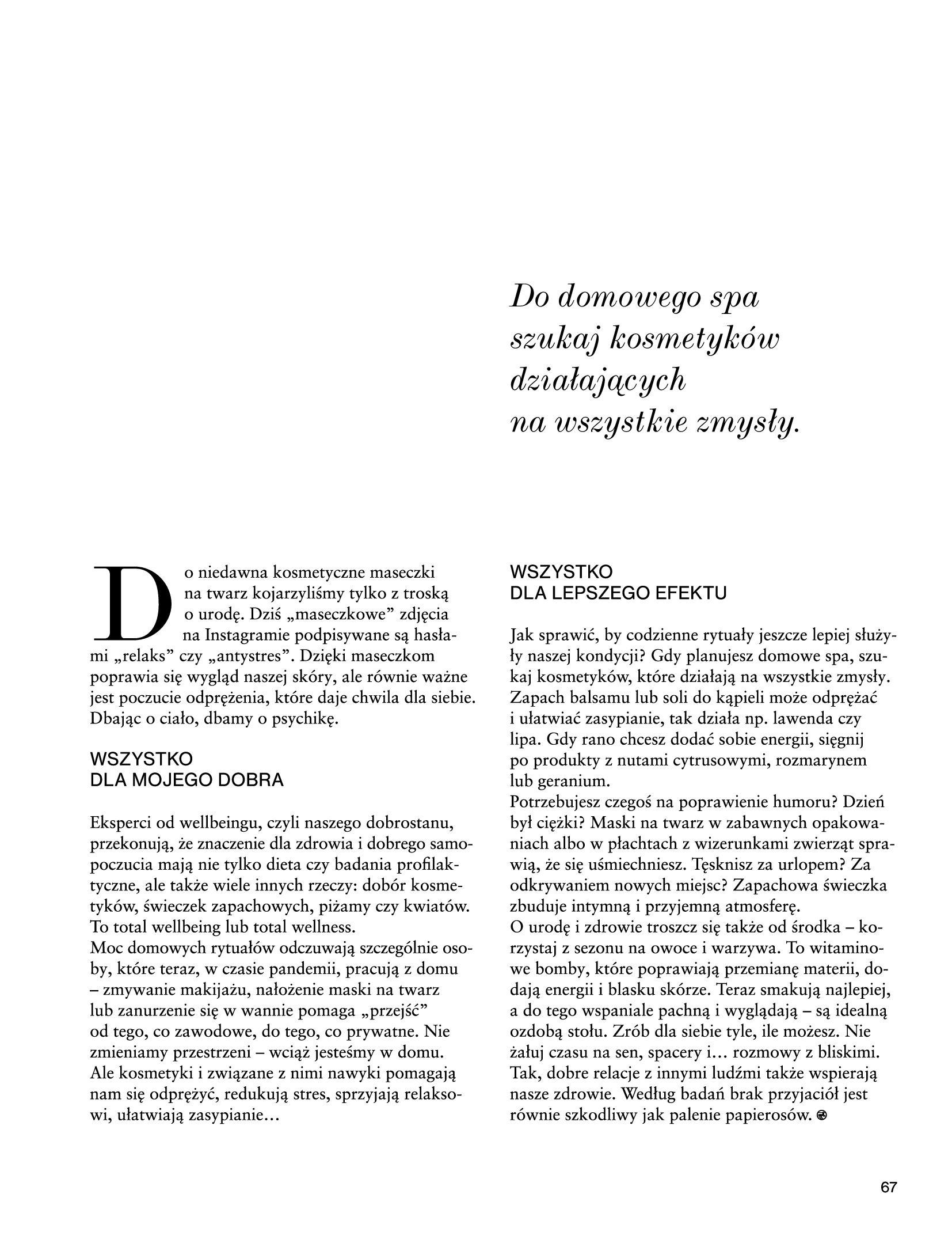 Gazetka Rossmann: Magazyn Rossmann - Skarb 2021-05-18 page-67