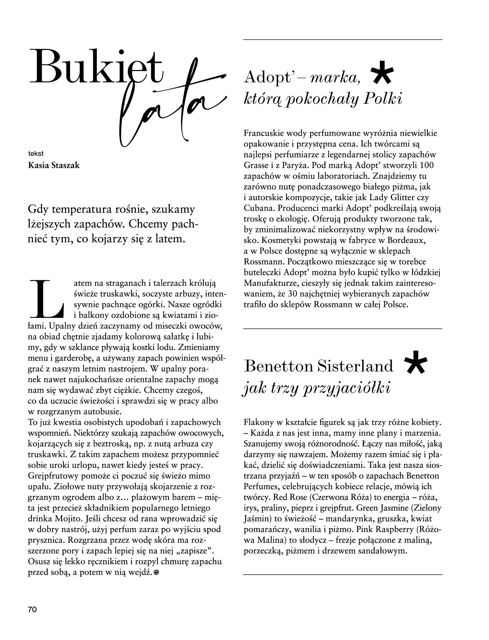 Gazetka Rossmann: Magazyn Rossmann - Skarb 2021-05-18 page-70