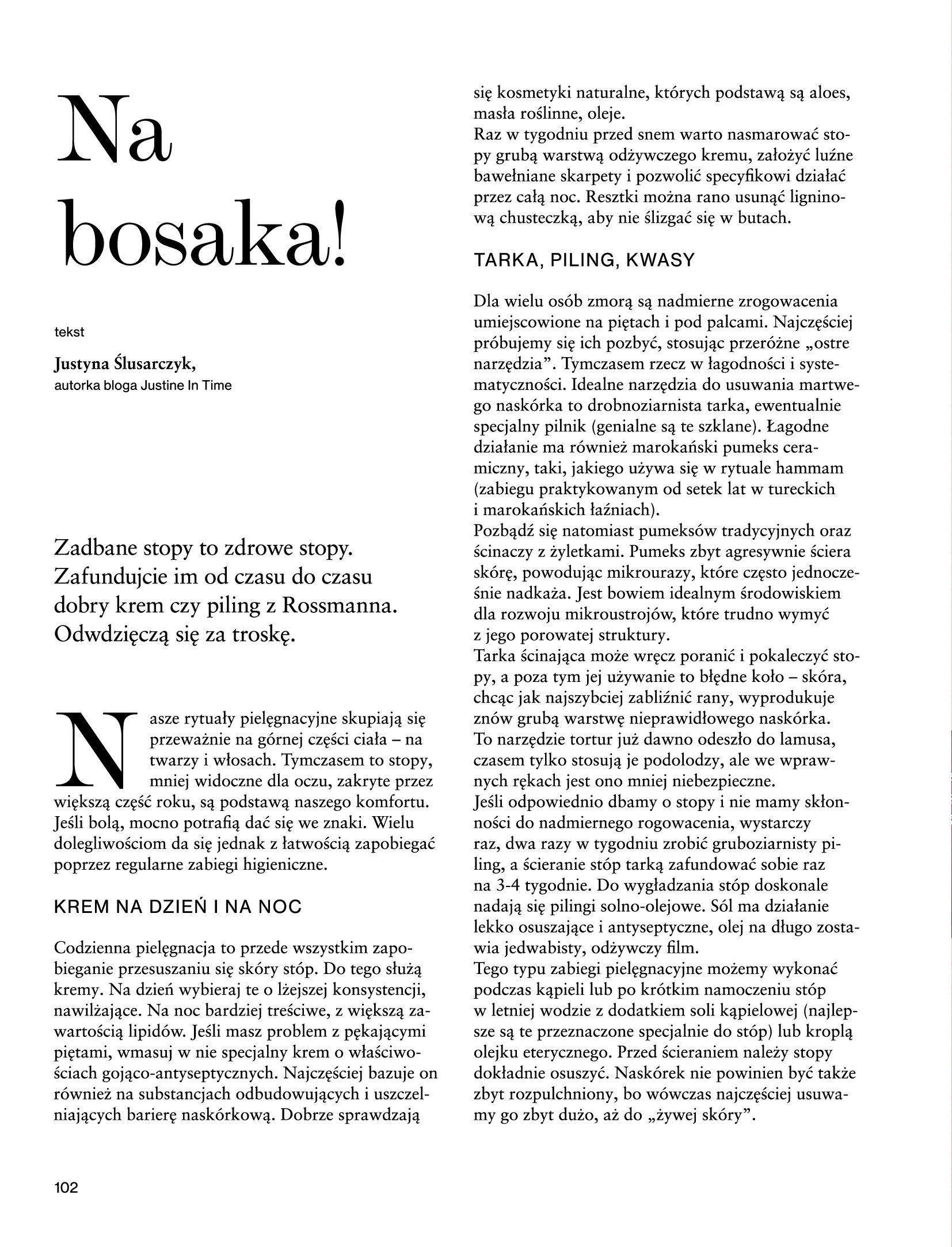 Gazetka Rossmann: Magazyn Rossmann - Skarb 2021-05-18 page-102