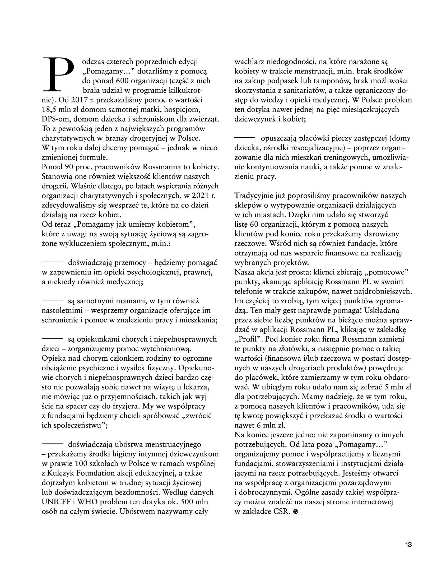 Gazetka Rossmann: Magazyn Rossmann - Skarb 2021-05-18 page-13