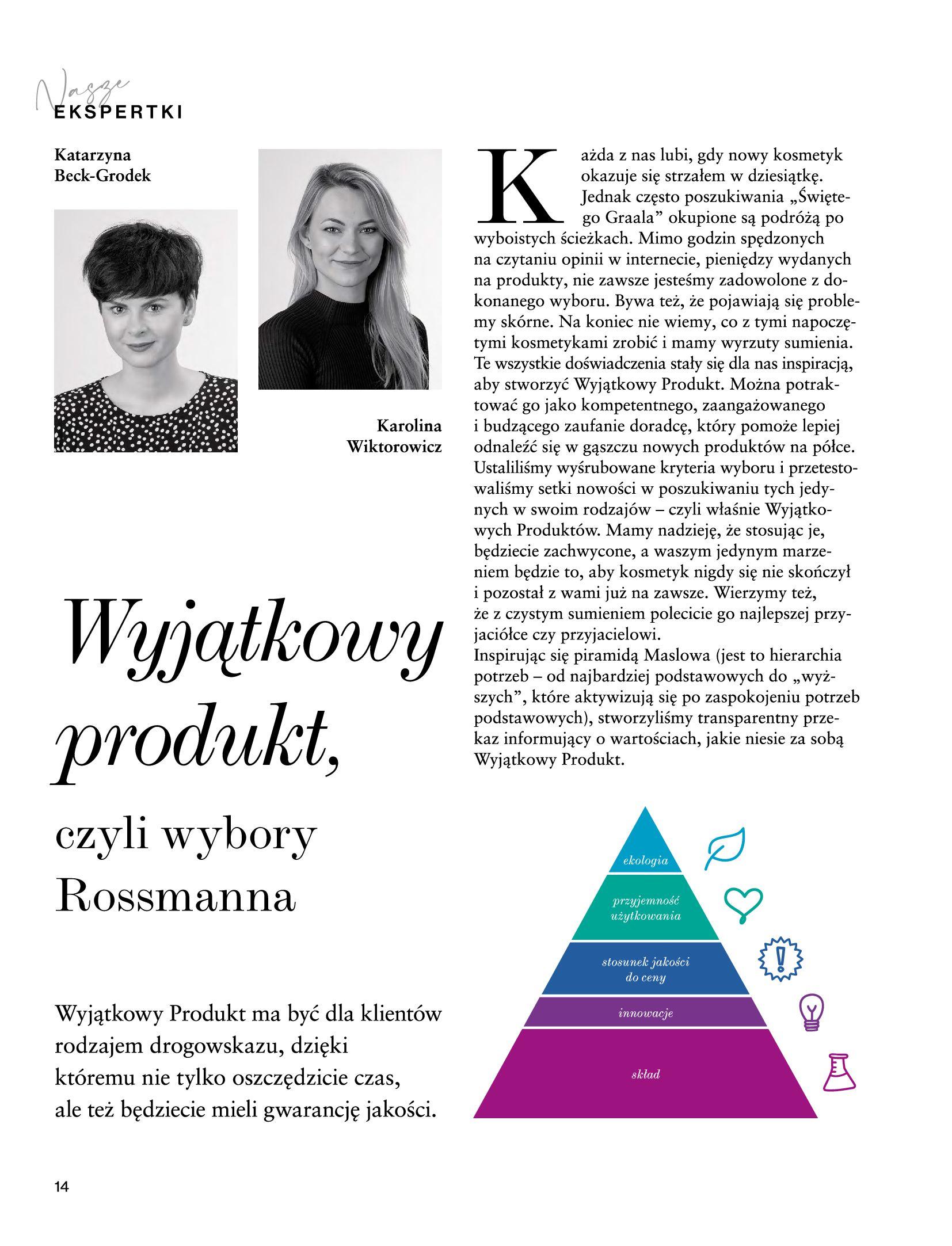 Gazetka Rossmann: Magazyn Rossmann - Skarb 2021-05-18 page-14