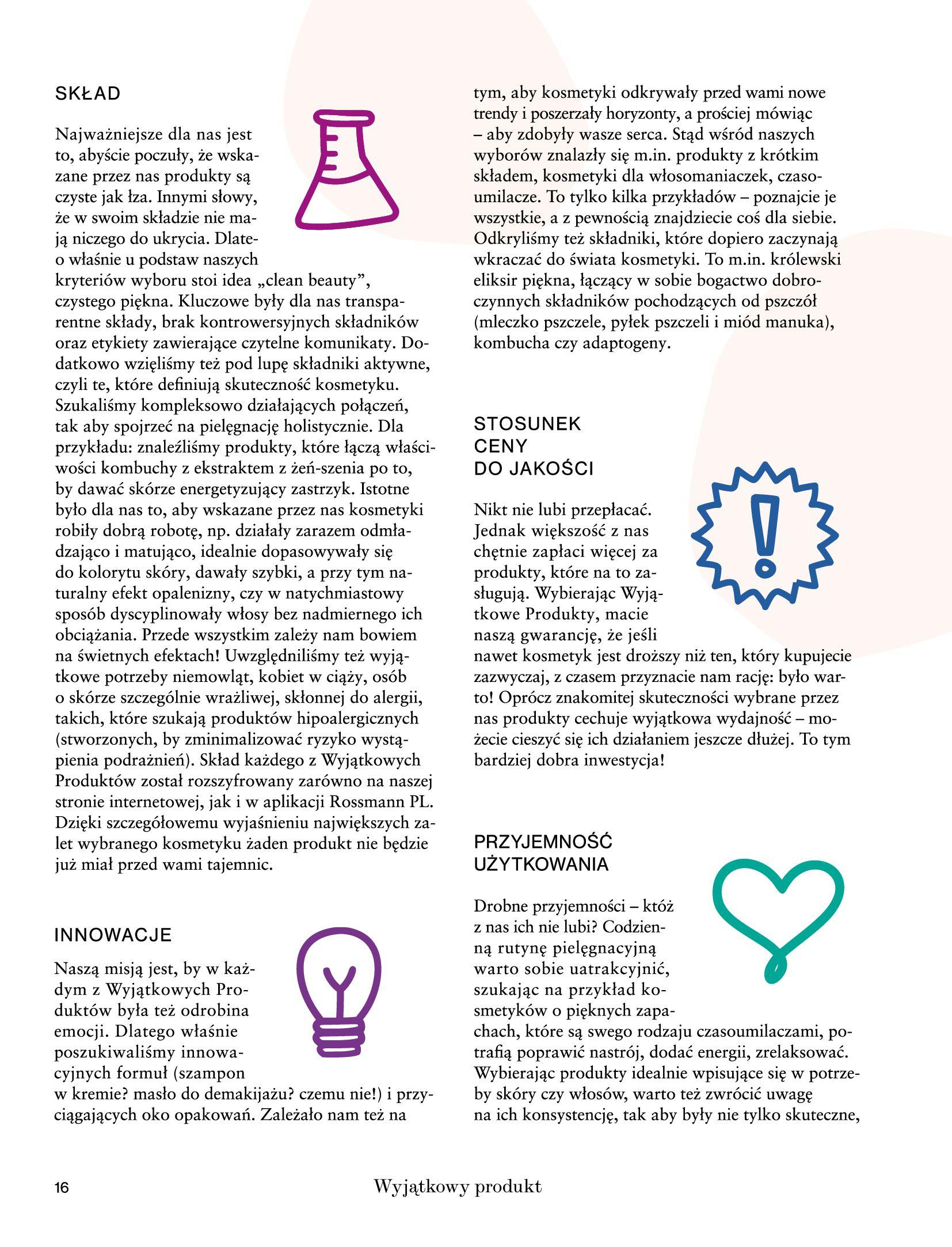 Gazetka Rossmann: Magazyn Rossmann - Skarb 2021-05-18 page-16