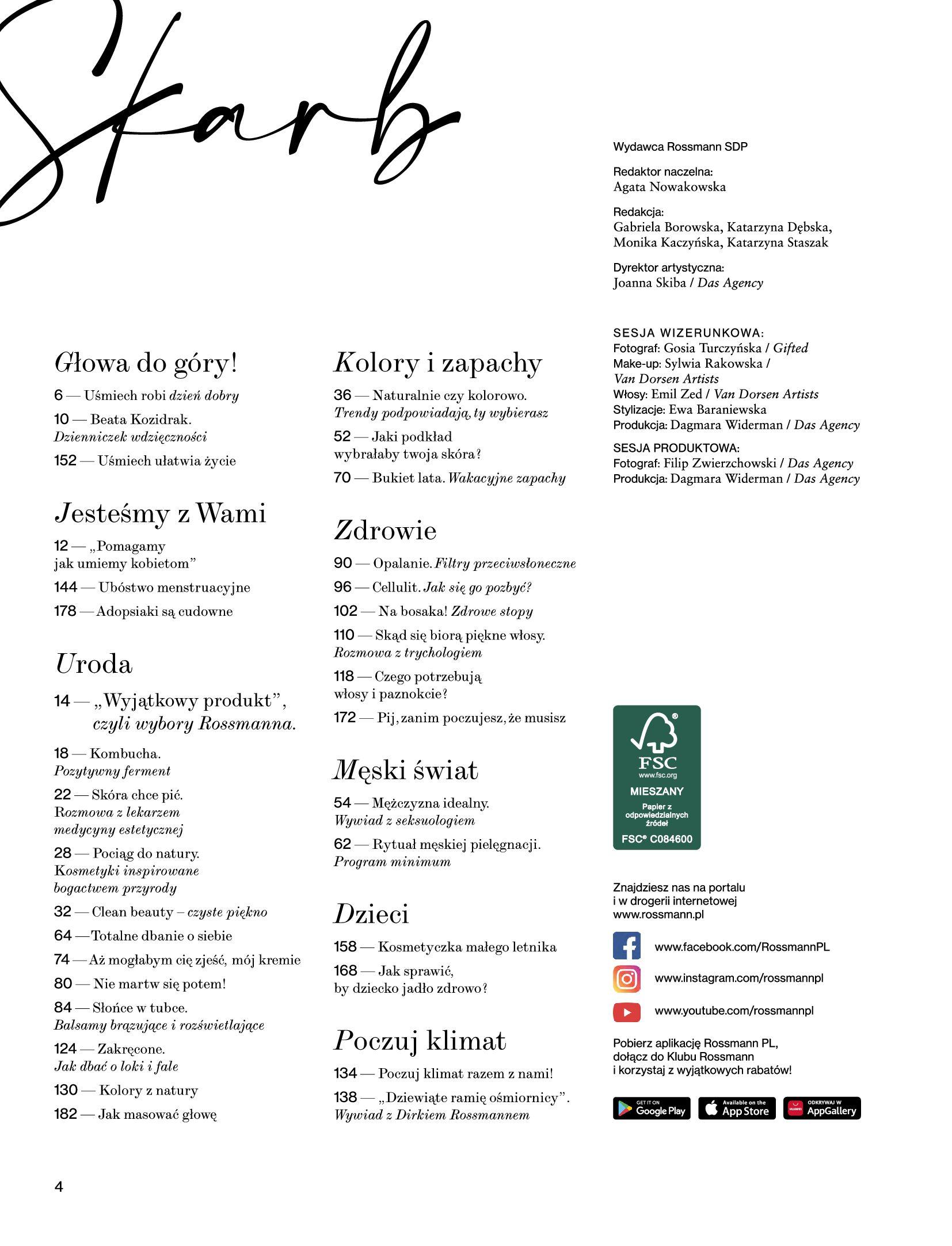 Gazetka Rossmann: Magazyn Rossmann - Skarb 2021-05-18 page-4