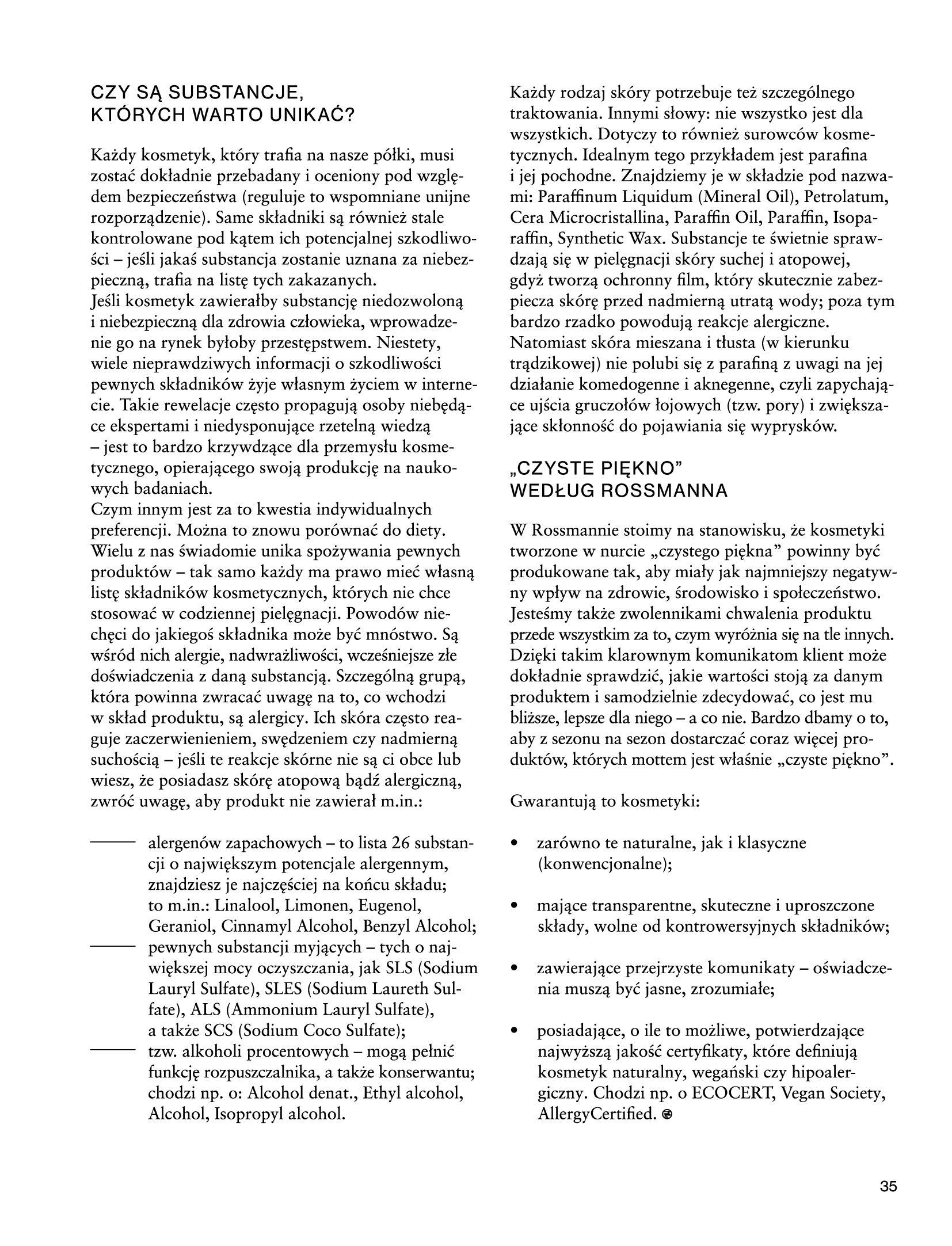 Gazetka Rossmann: Magazyn Rossmann - Skarb 2021-05-18 page-35
