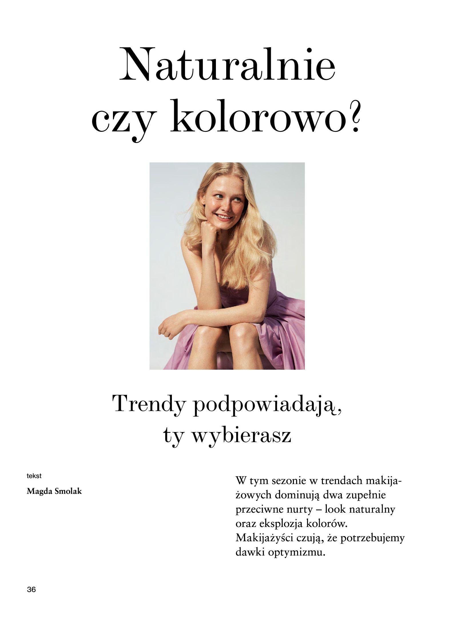 Gazetka Rossmann: Magazyn Rossmann - Skarb 2021-05-18 page-36