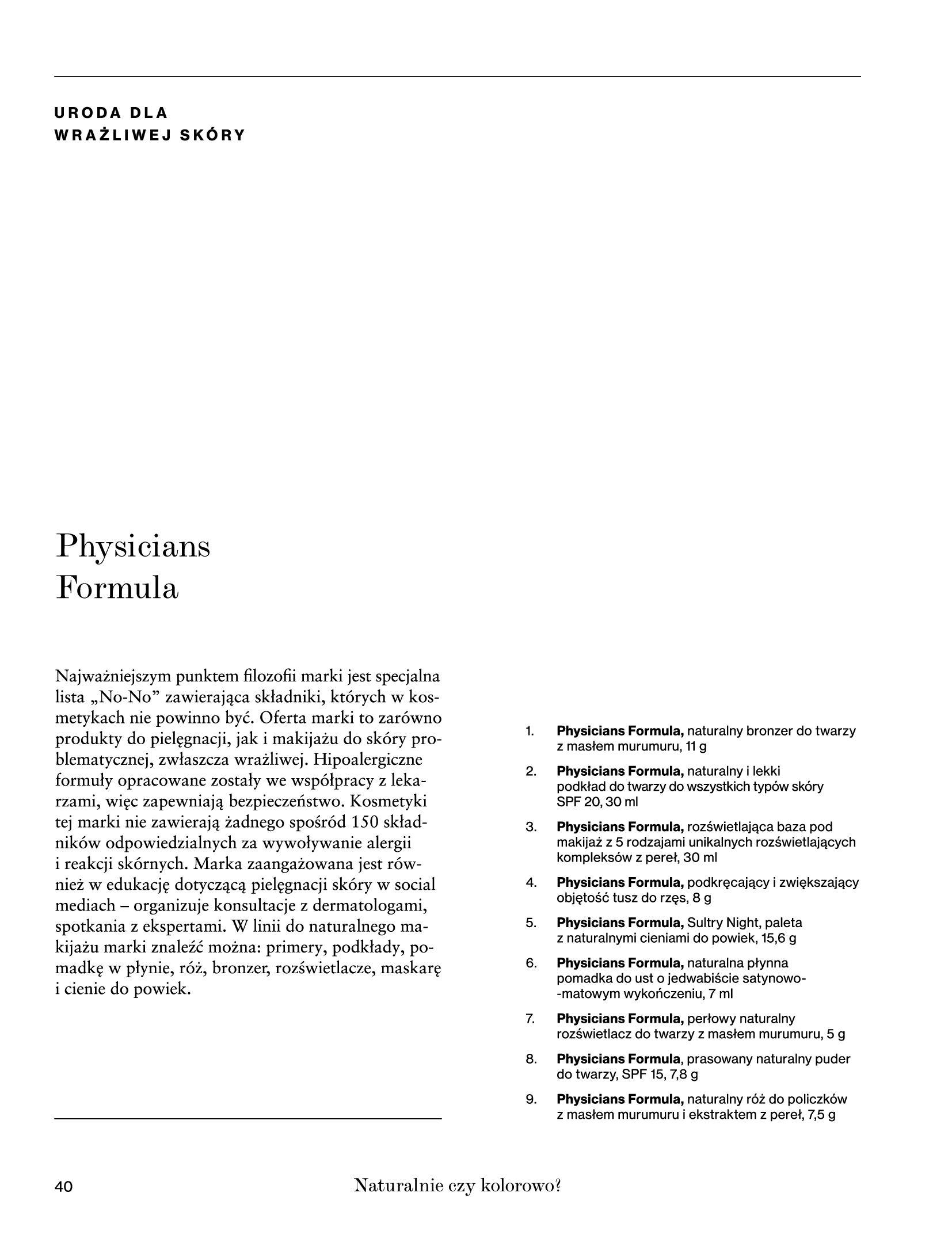 Gazetka Rossmann: Magazyn Rossmann - Skarb 2021-05-18 page-40