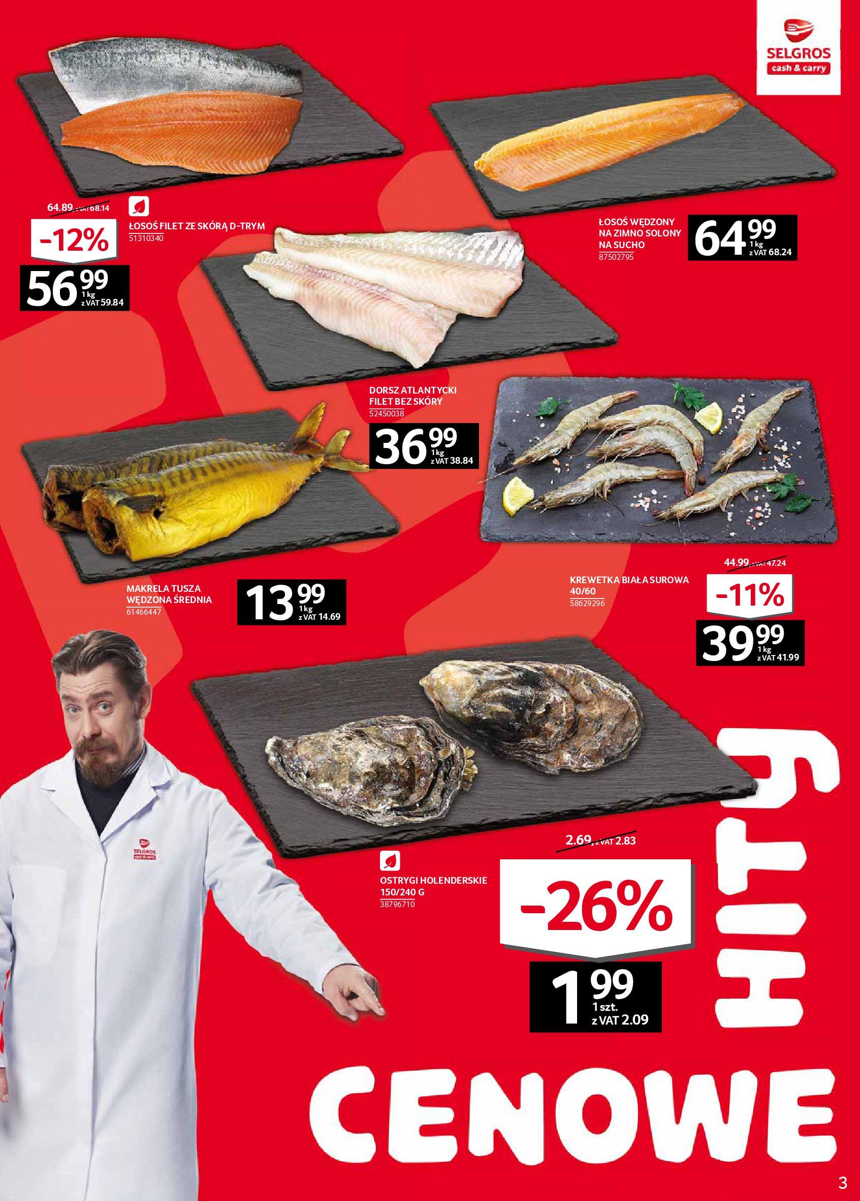 Gazetka Selgros - Oferta spożywcza-05.02.2020-19.02.2020-page-3