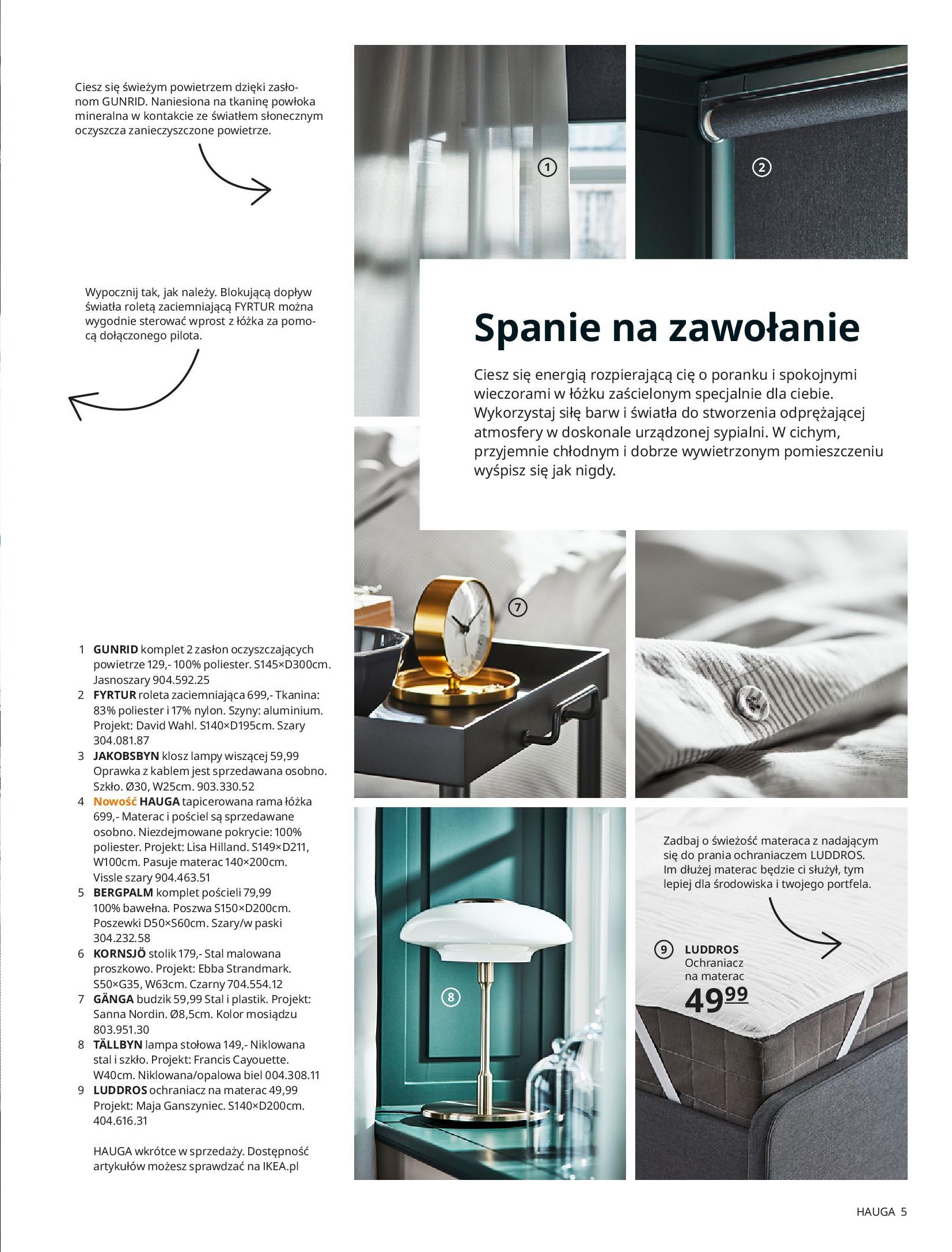 Gazetka IKEA: SYPIALNIA 2021 2021-01-13 page-5