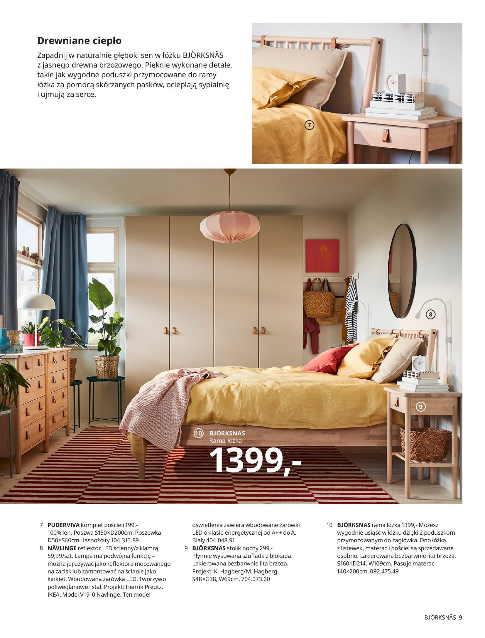 Gazetka IKEA: SYPIALNIA 2021 2021-01-13 page-9