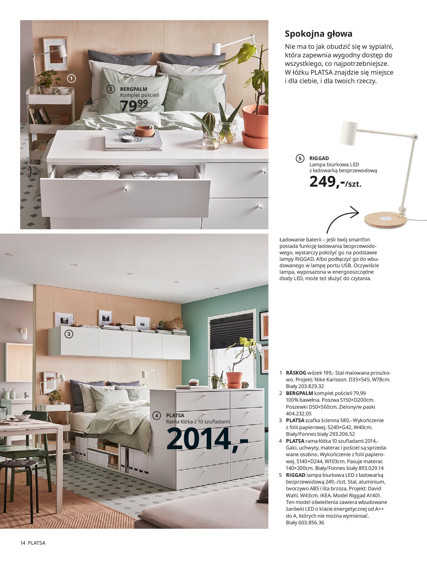 Gazetka IKEA: SYPIALNIA 2021 2021-01-13 page-14