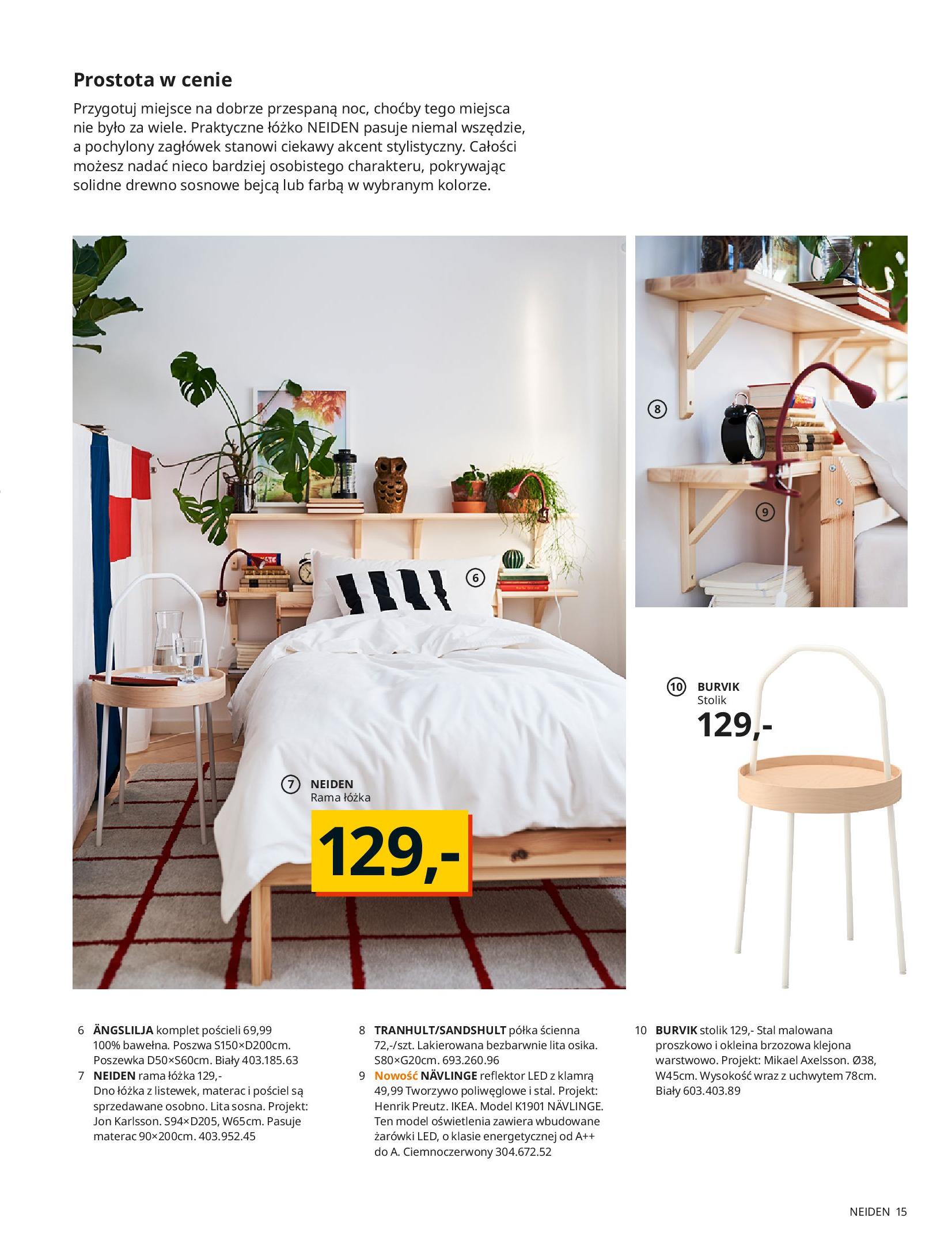 Gazetka IKEA: SYPIALNIA 2021 2021-01-13 page-15