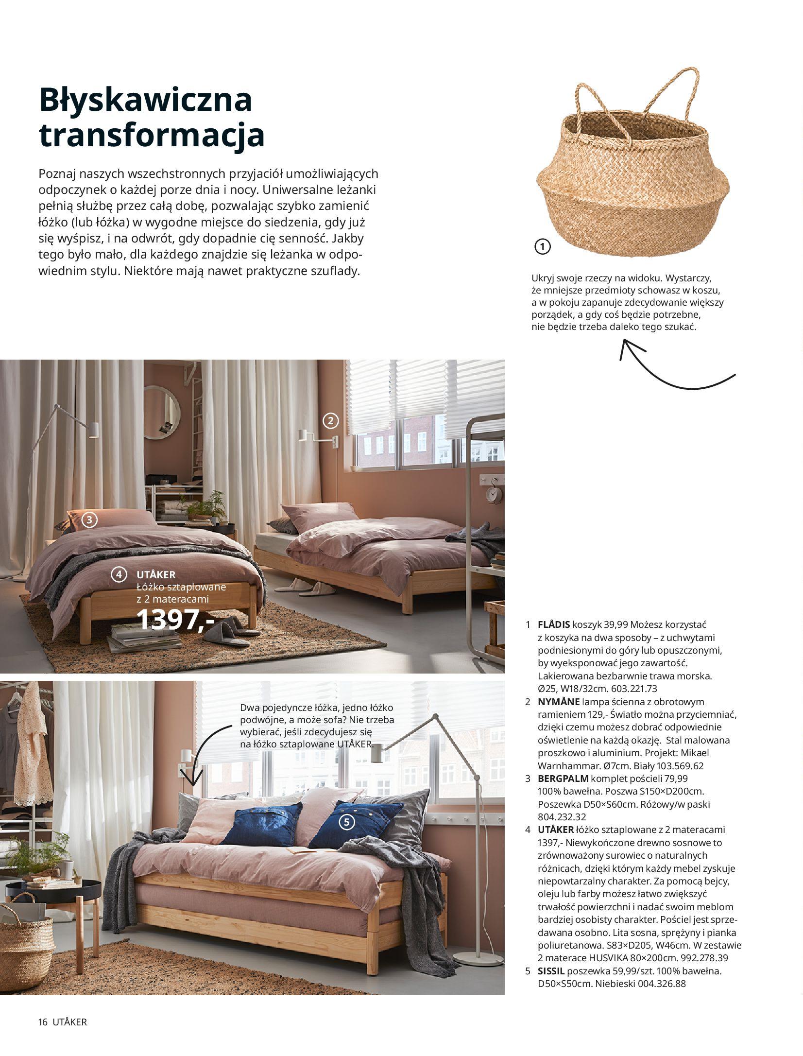 Gazetka IKEA: SYPIALNIA 2021 2021-01-13 page-16