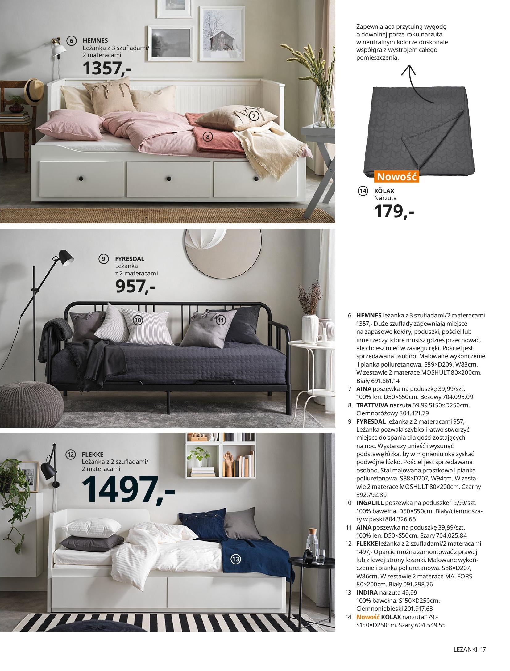 Gazetka IKEA: SYPIALNIA 2021 2021-01-13 page-17