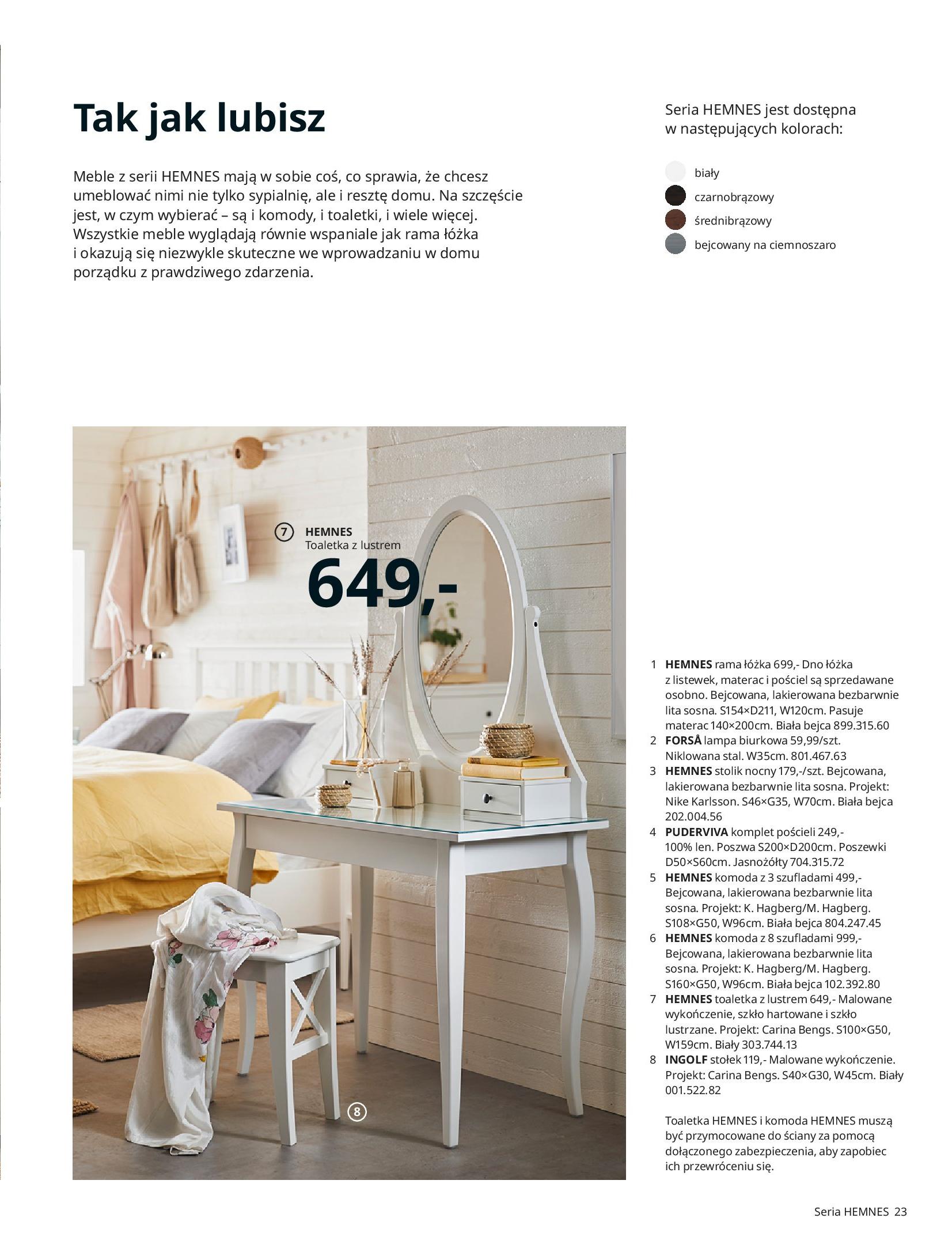 Gazetka IKEA: SYPIALNIA 2021 2021-01-13 page-23