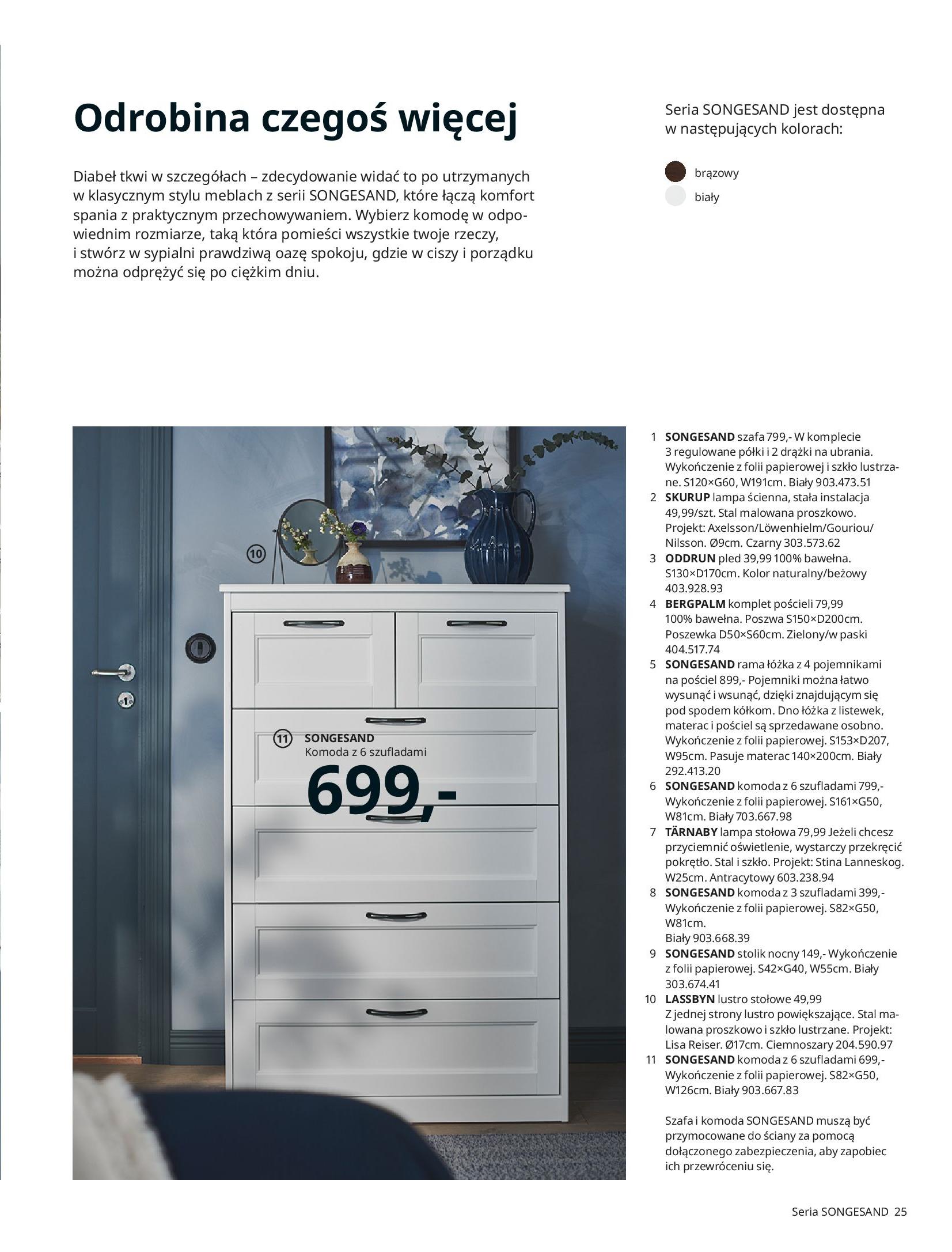 Gazetka IKEA: SYPIALNIA 2021 2021-01-13 page-25