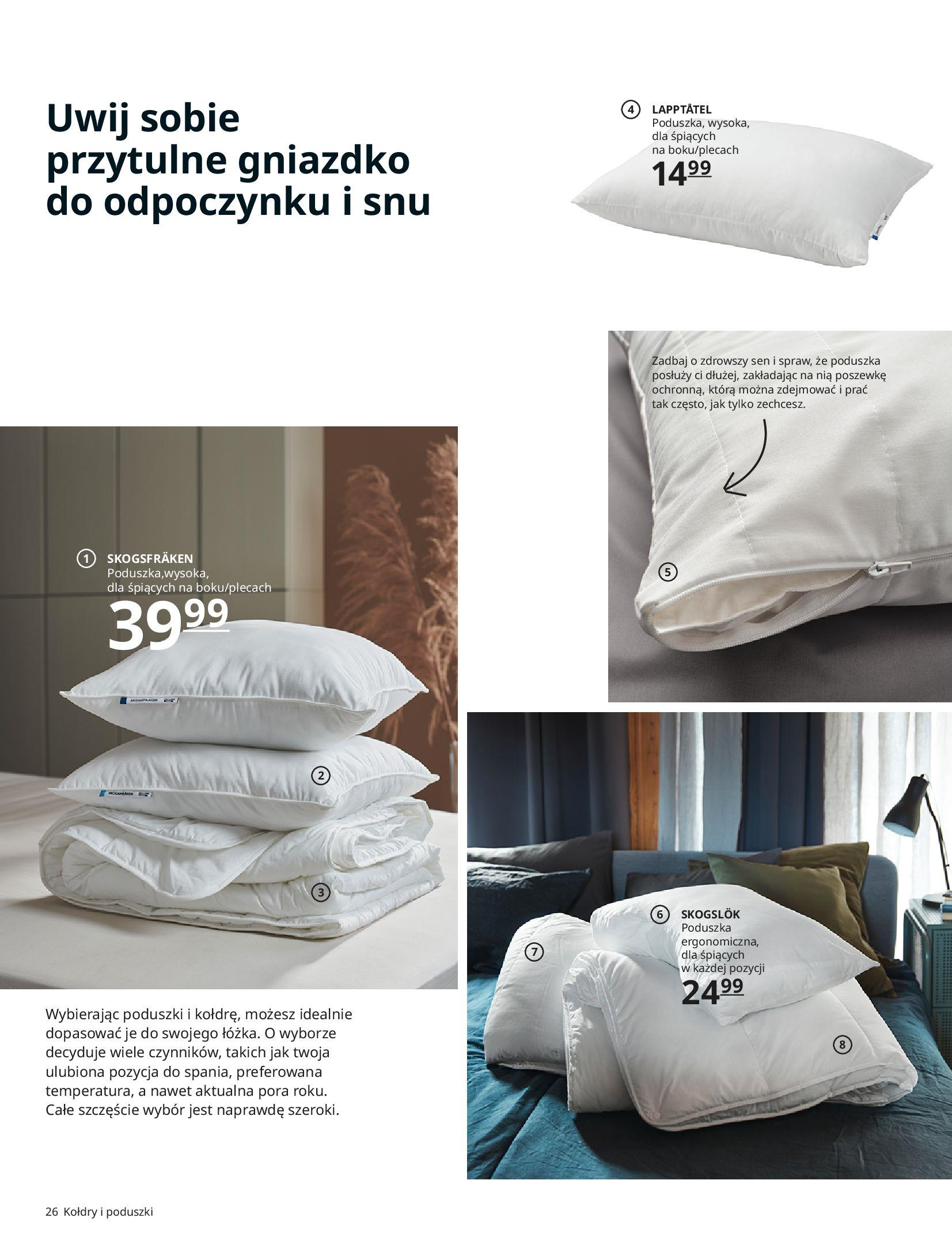 Gazetka IKEA: SYPIALNIA 2021 2021-01-13 page-26