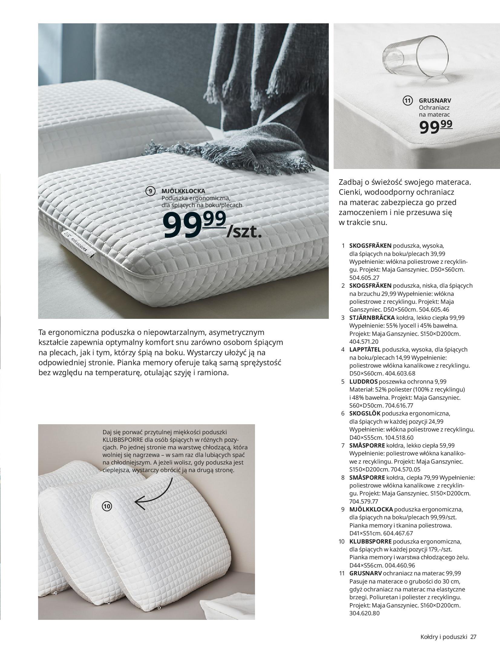 Gazetka IKEA: SYPIALNIA 2021 2021-01-13 page-27