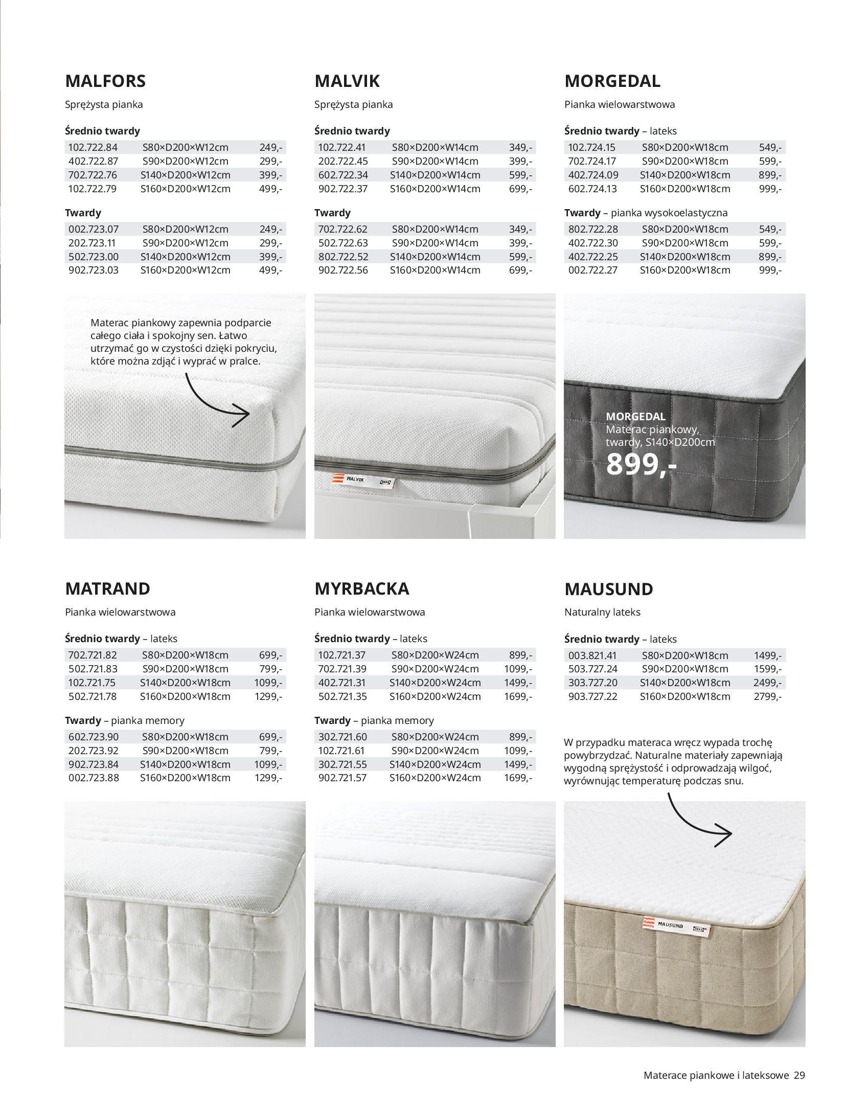 Gazetka IKEA: SYPIALNIA 2021 2021-01-13 page-29