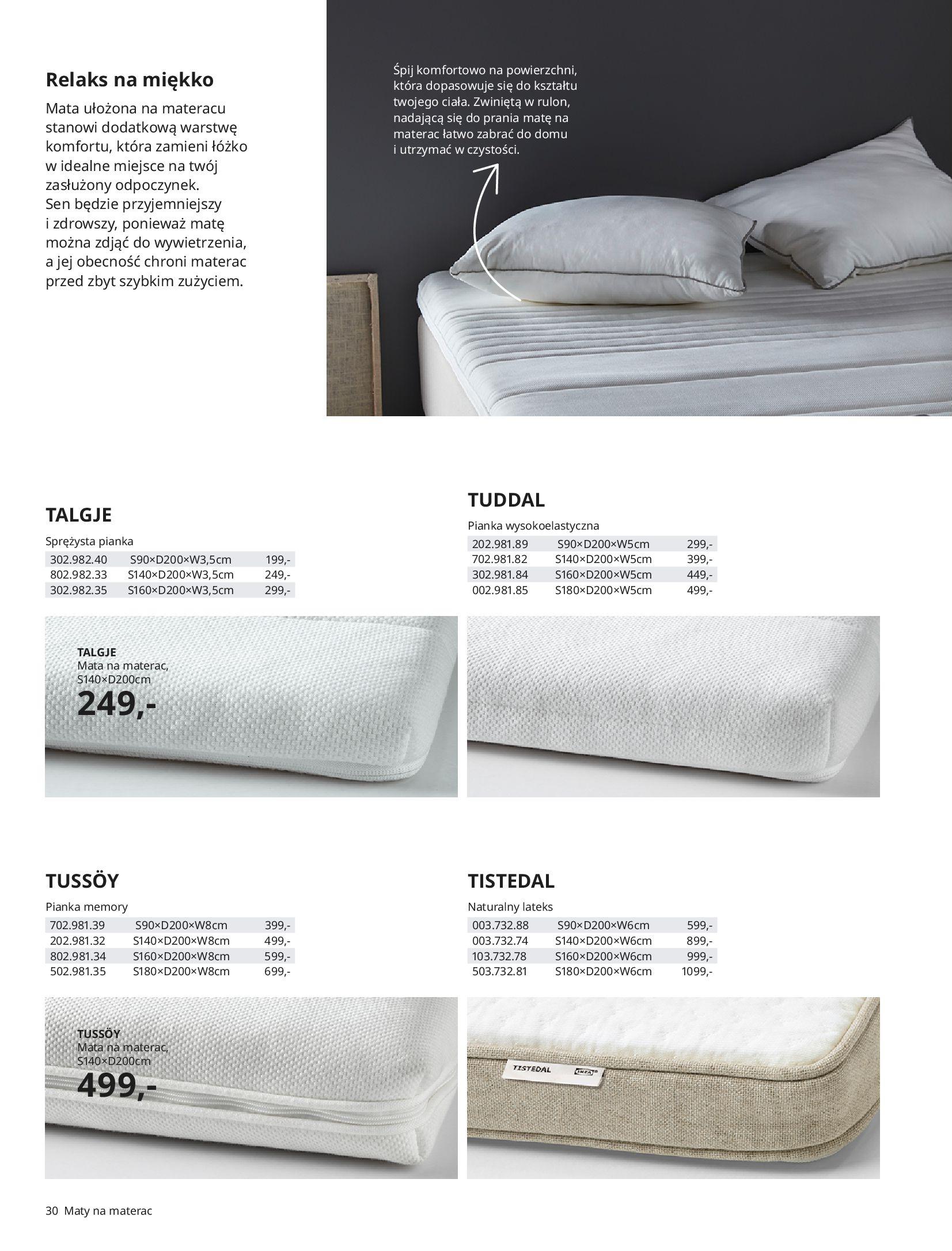 Gazetka IKEA: SYPIALNIA 2021 2021-01-13 page-30