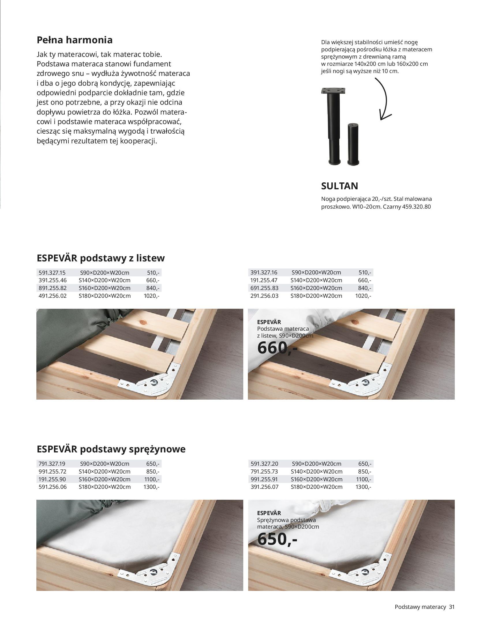 Gazetka IKEA: SYPIALNIA 2021 2021-01-13 page-31