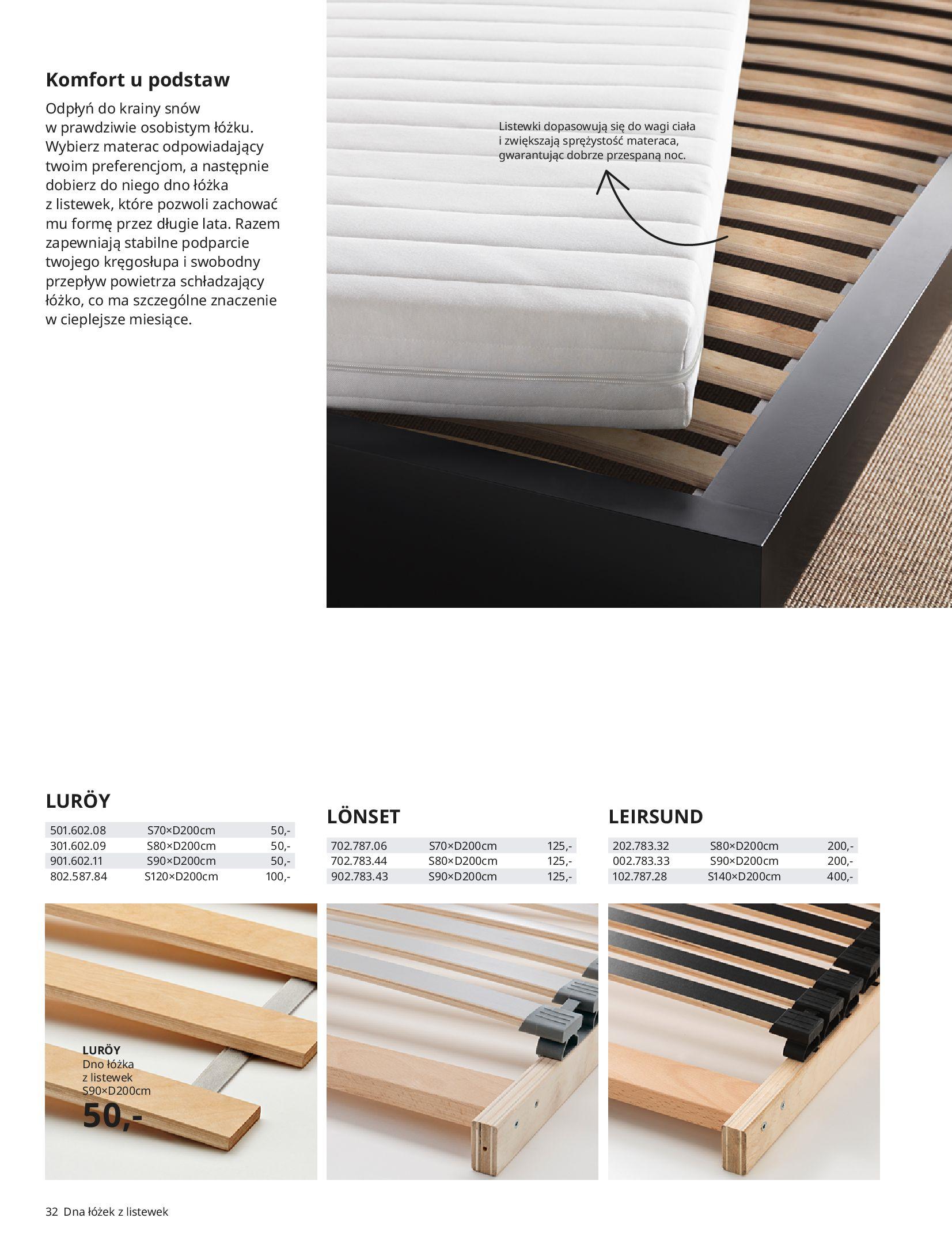 Gazetka IKEA: SYPIALNIA 2021 2021-01-13 page-32