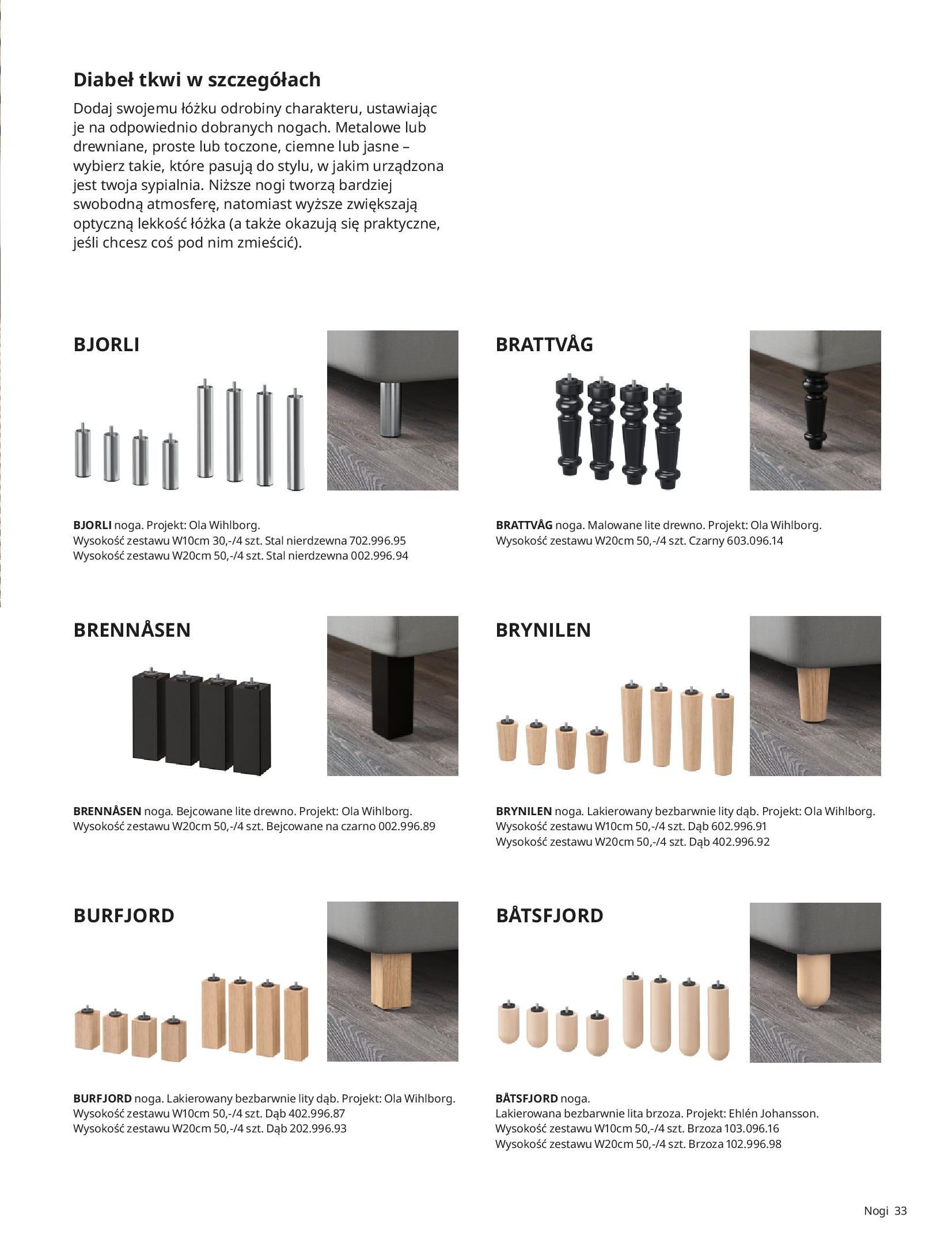 Gazetka IKEA: SYPIALNIA 2021 2021-01-13 page-33
