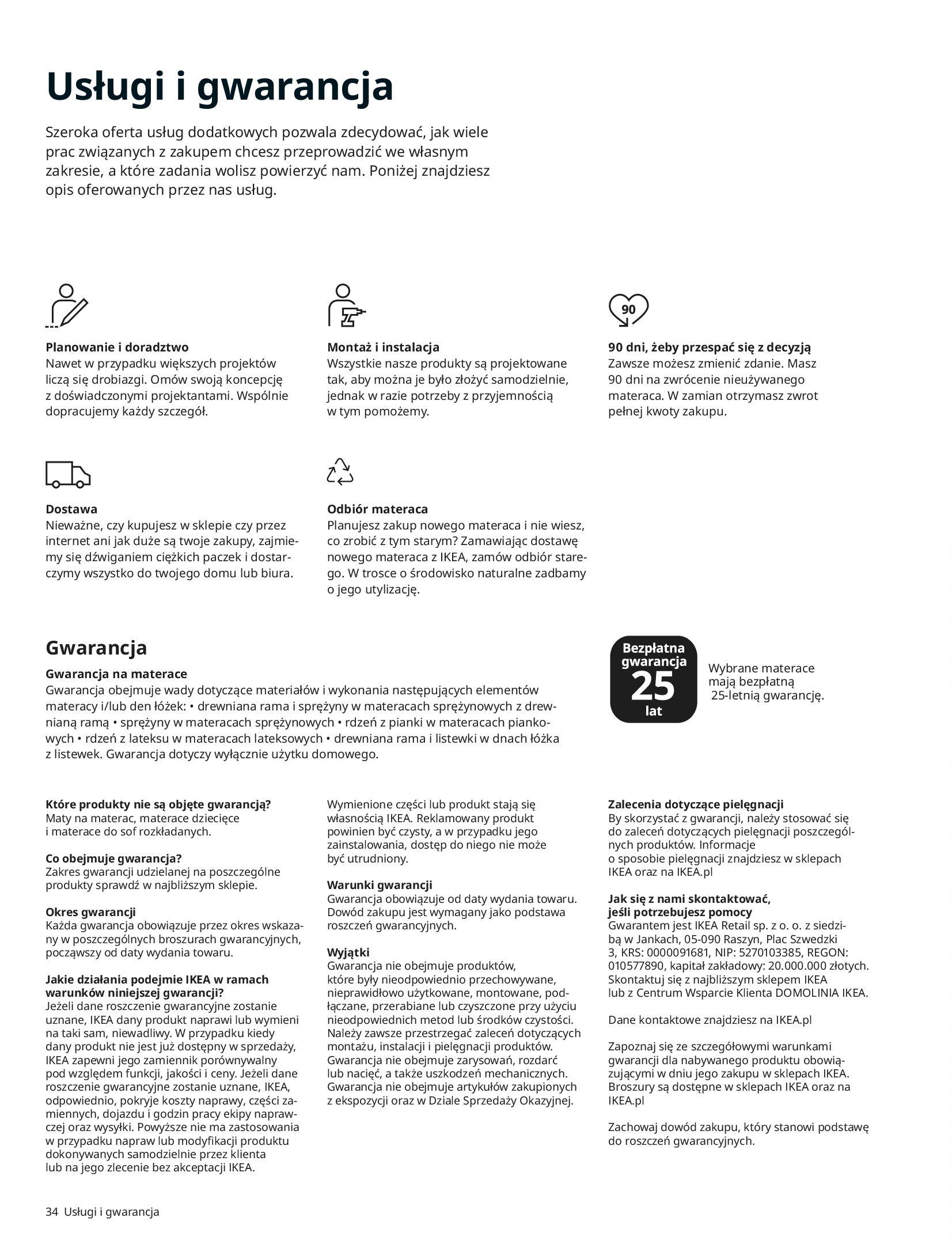 Gazetka IKEA: SYPIALNIA 2021 2021-01-13 page-34