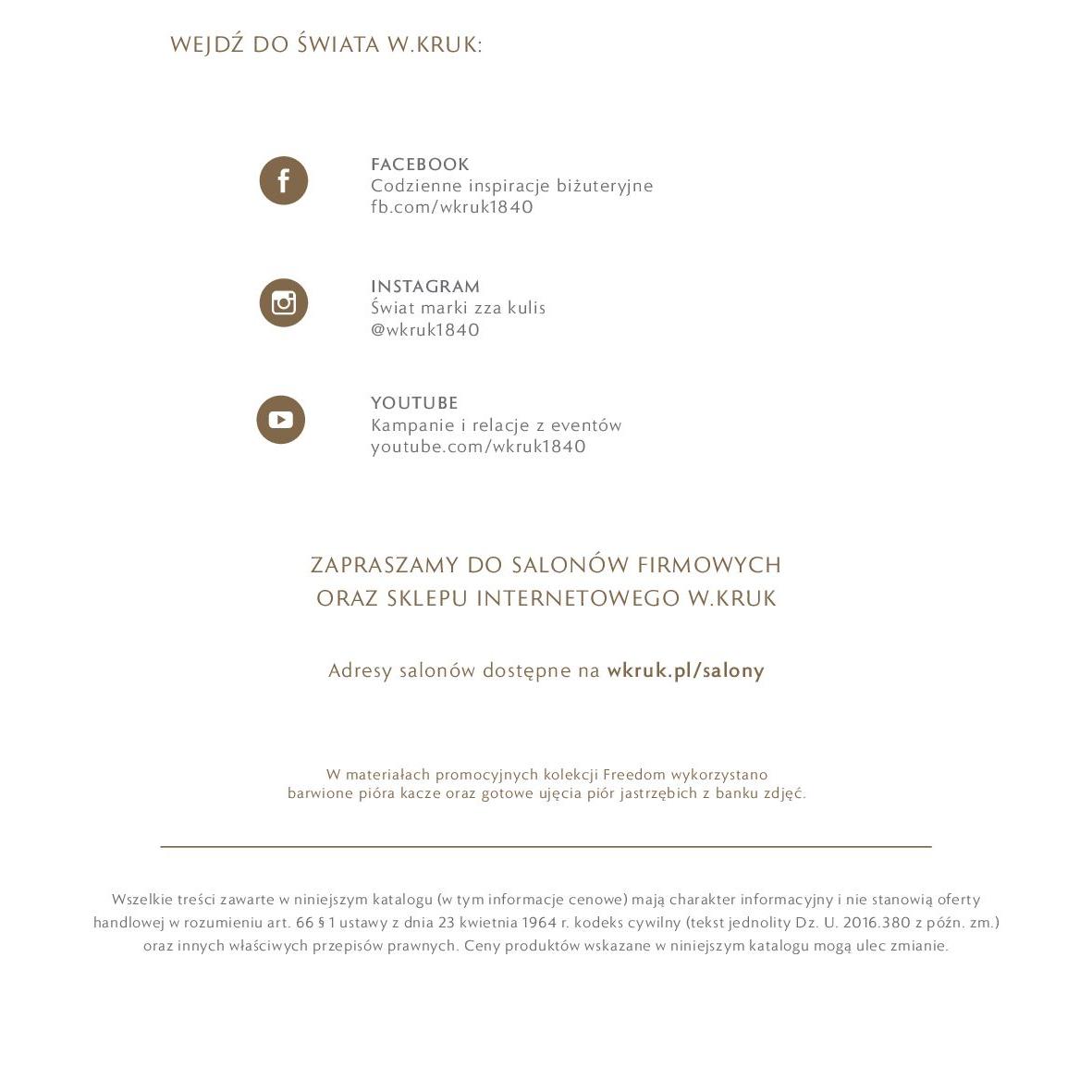 Gazetka W. KRUK: Katalog - Kolekcja Freedom 2021-02-17 page-45