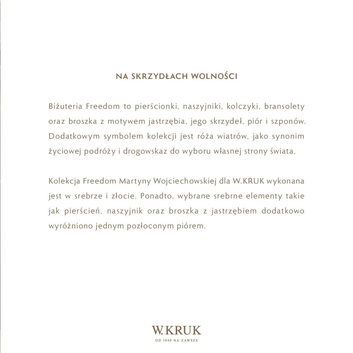 Gazetka W. KRUK: Katalog - Kolekcja Freedom 2021-02-17 page-29