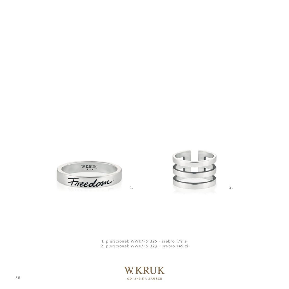 Gazetka W. KRUK: Katalog - Kolekcja Freedom 2021-02-17 page-38