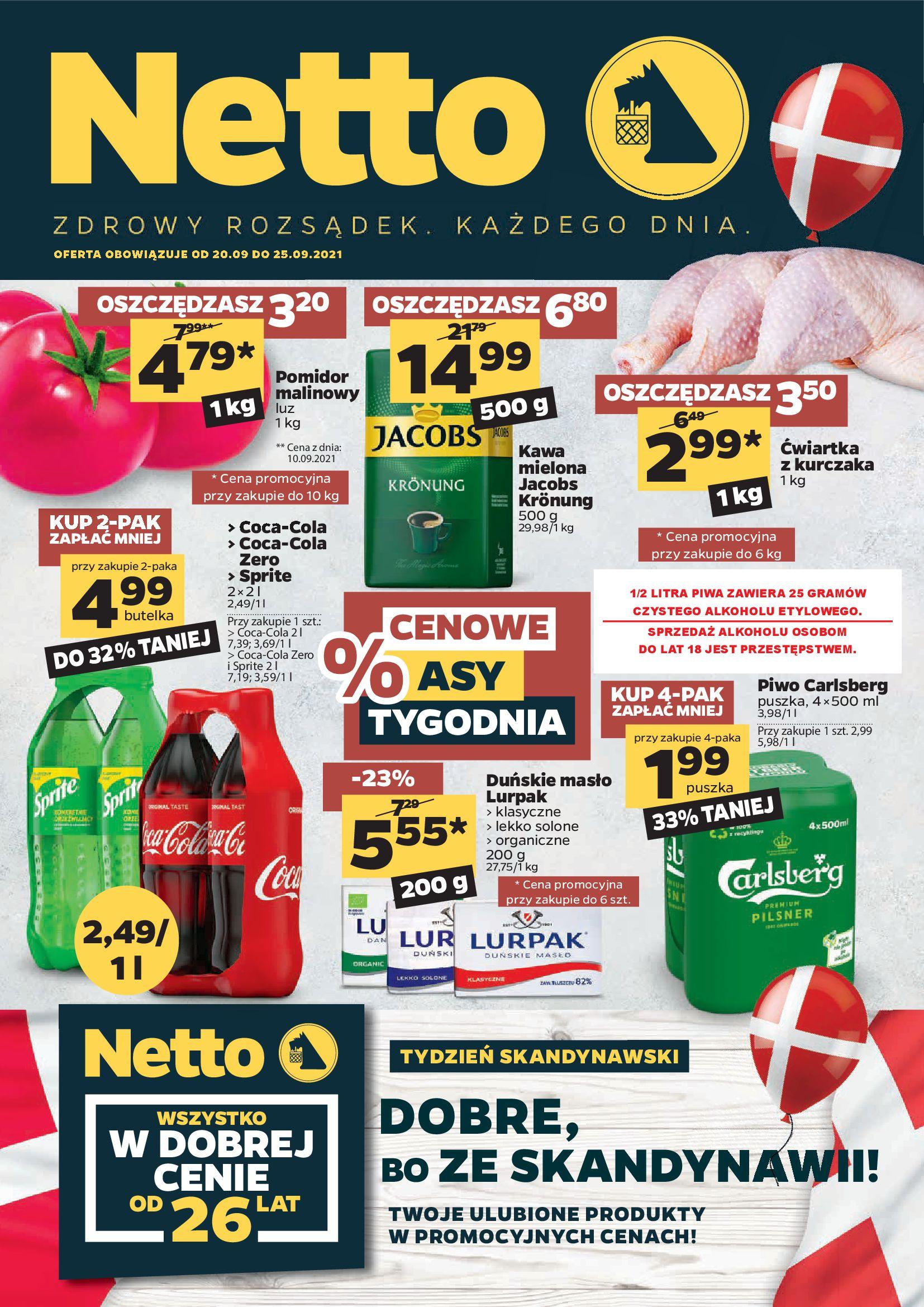Gazetka Netto: Gazetka Netto - 20-25.09. 2021-09-20