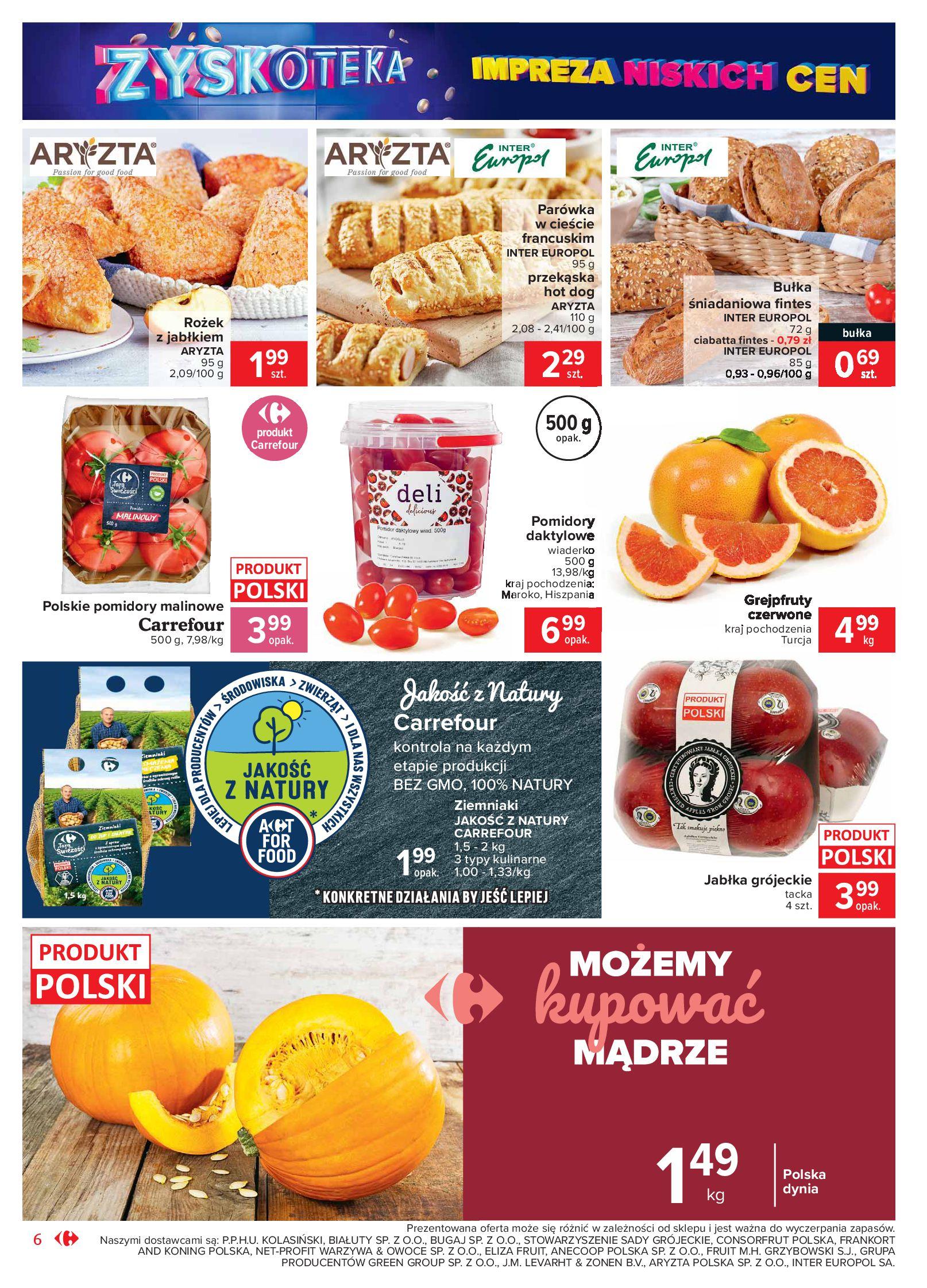 Gazetka Carrefour Market - Oferta handlowa-19.10.2020-24.10.2020-page-6