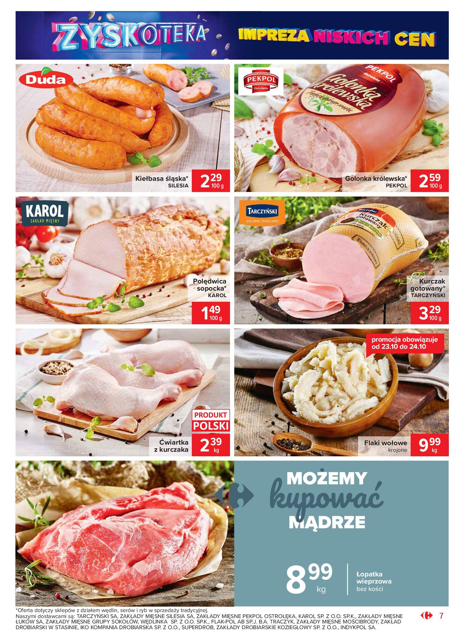 Gazetka Carrefour Market - Oferta handlowa-19.10.2020-24.10.2020-page-7