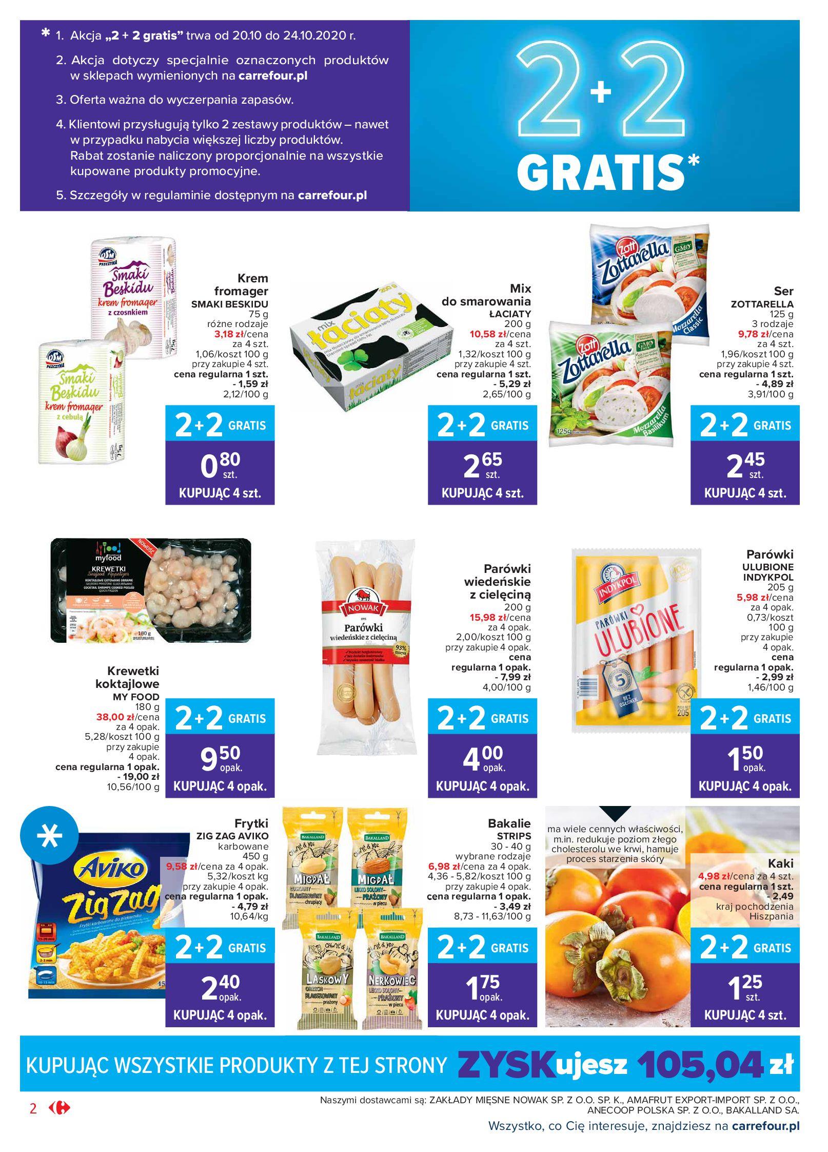 Gazetka Carrefour Market - Oferta handlowa-19.10.2020-24.10.2020-page-2