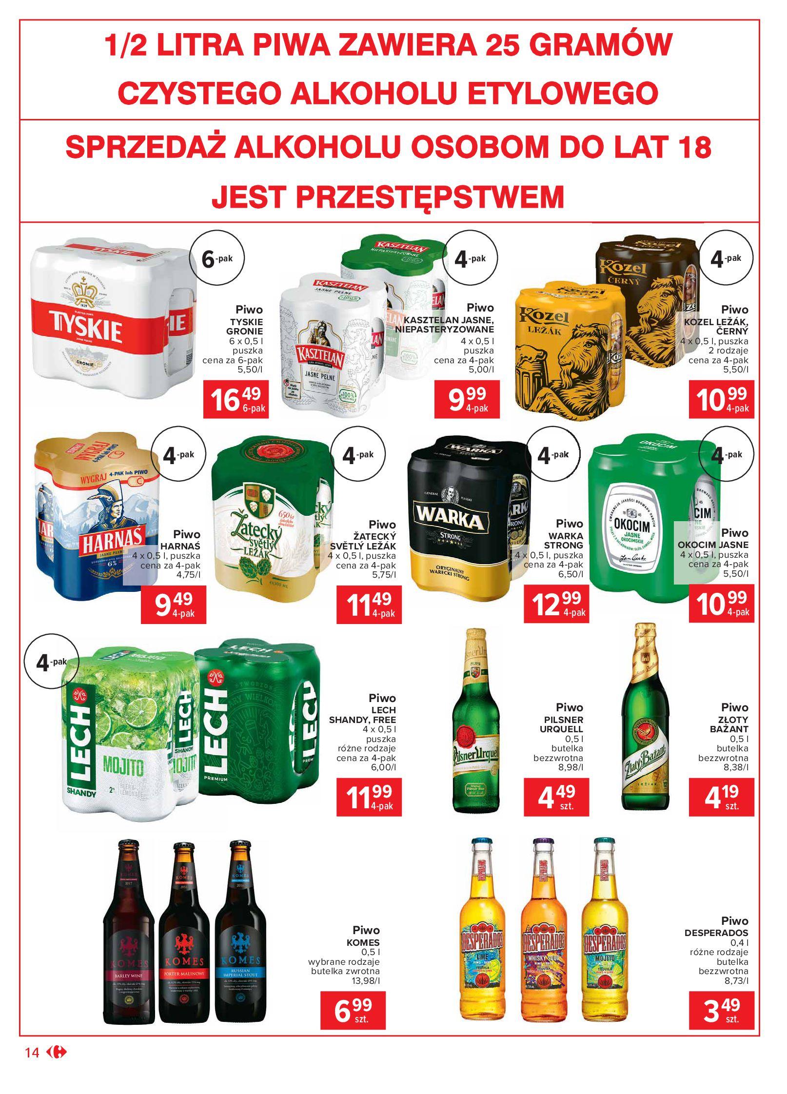Gazetka Carrefour Market - Oferta handlowa-19.10.2020-24.10.2020-page-14