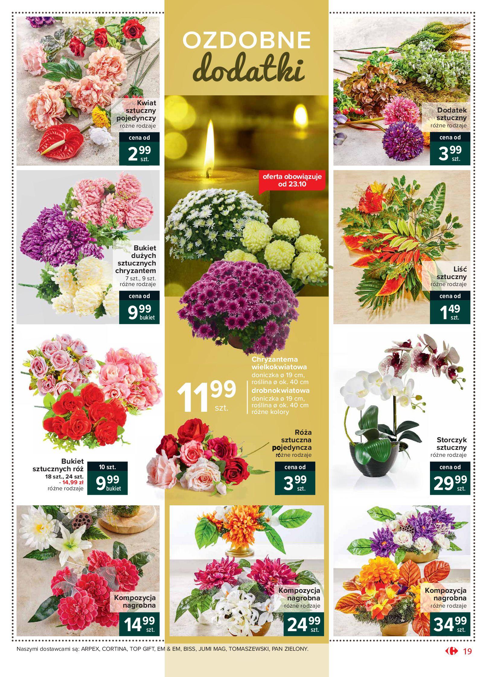 Gazetka Carrefour Market - Oferta handlowa-19.10.2020-24.10.2020-page-19