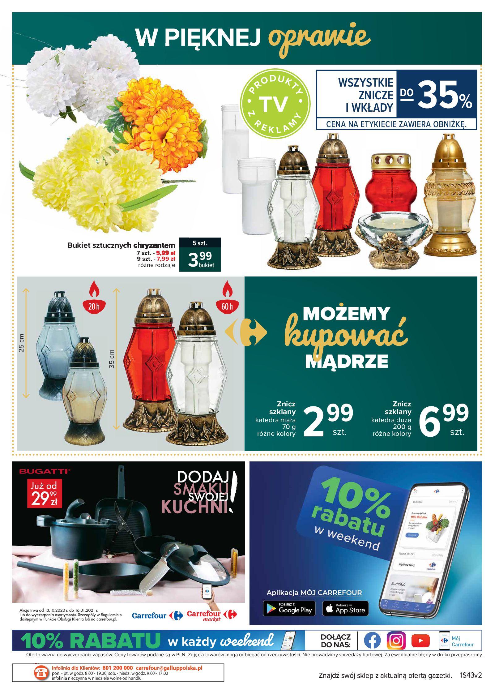 Gazetka Carrefour Market - Oferta handlowa-19.10.2020-24.10.2020-page-20