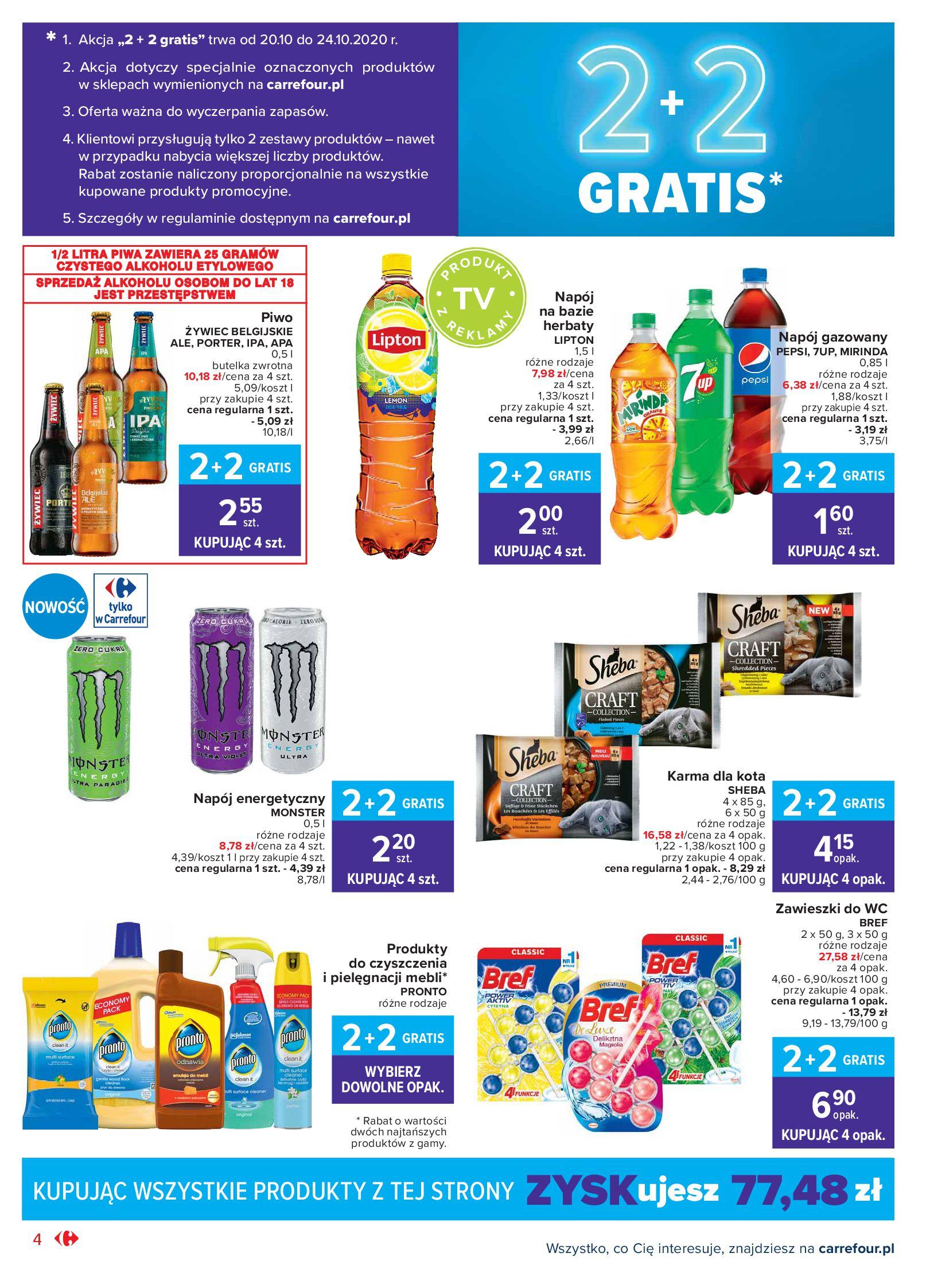 Gazetka Carrefour Market - Oferta handlowa-19.10.2020-24.10.2020-page-4