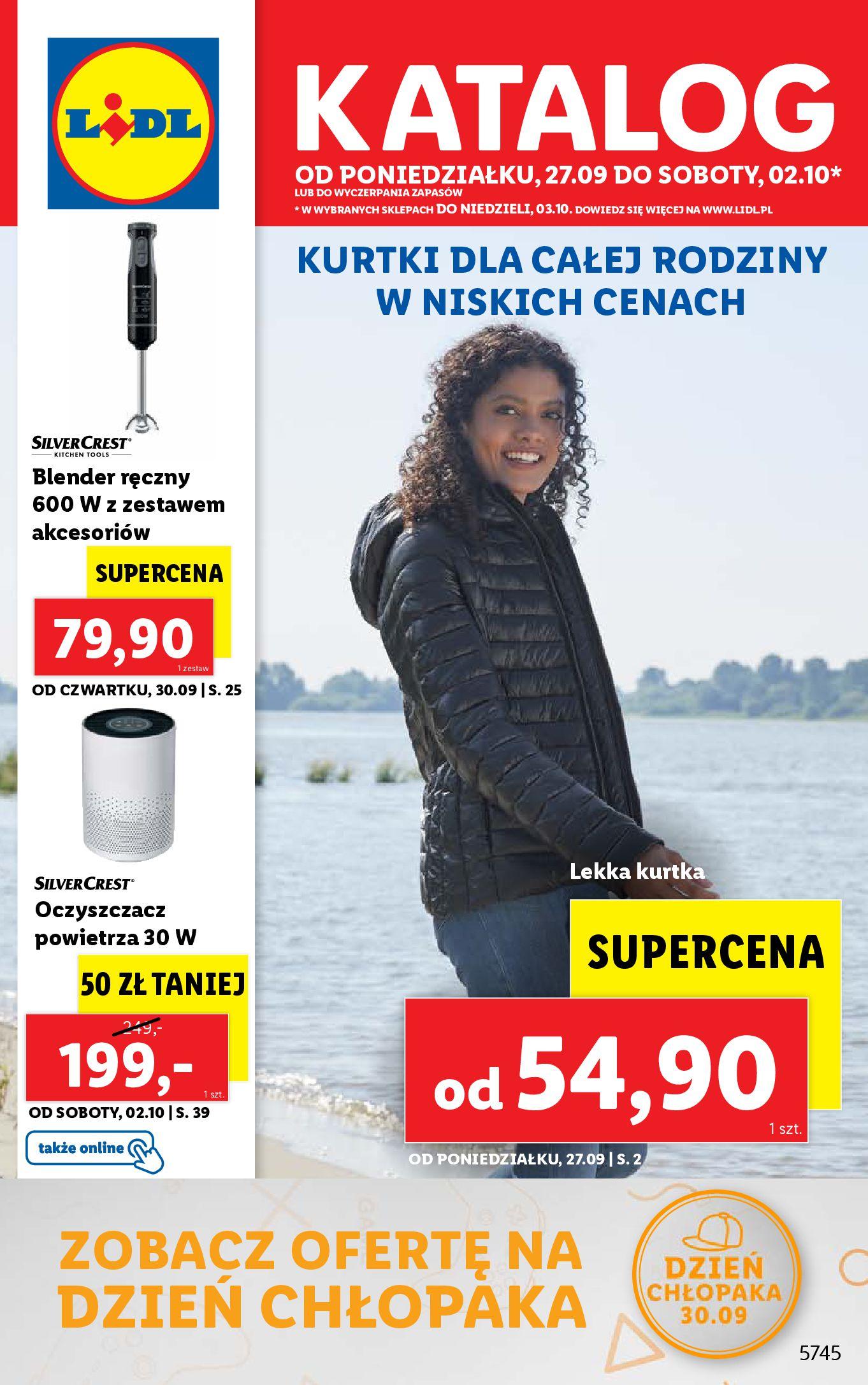 Gazetka Lidl: Gazetka Lidl - Katalog od 27.09 - 26.09.2021