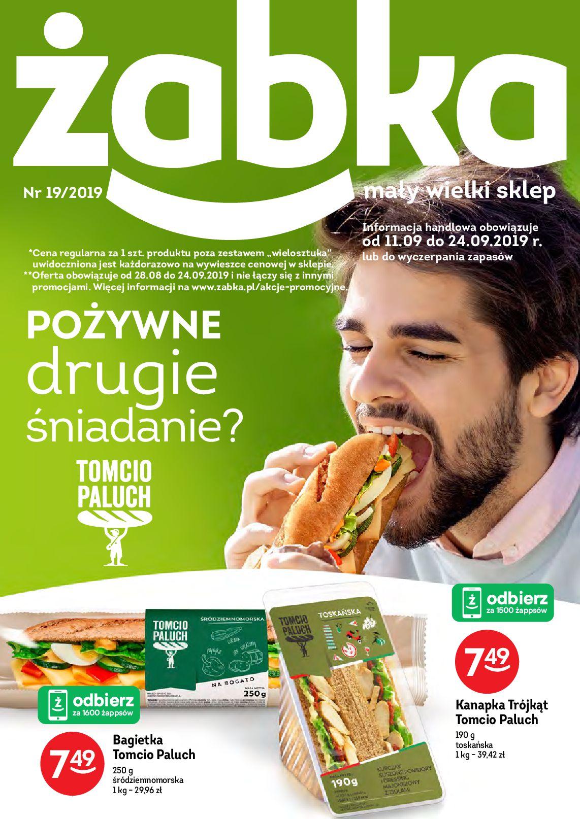 Gazetka Żabka - Oferta promocyjna-10.09.2019-24.09.2019-page-