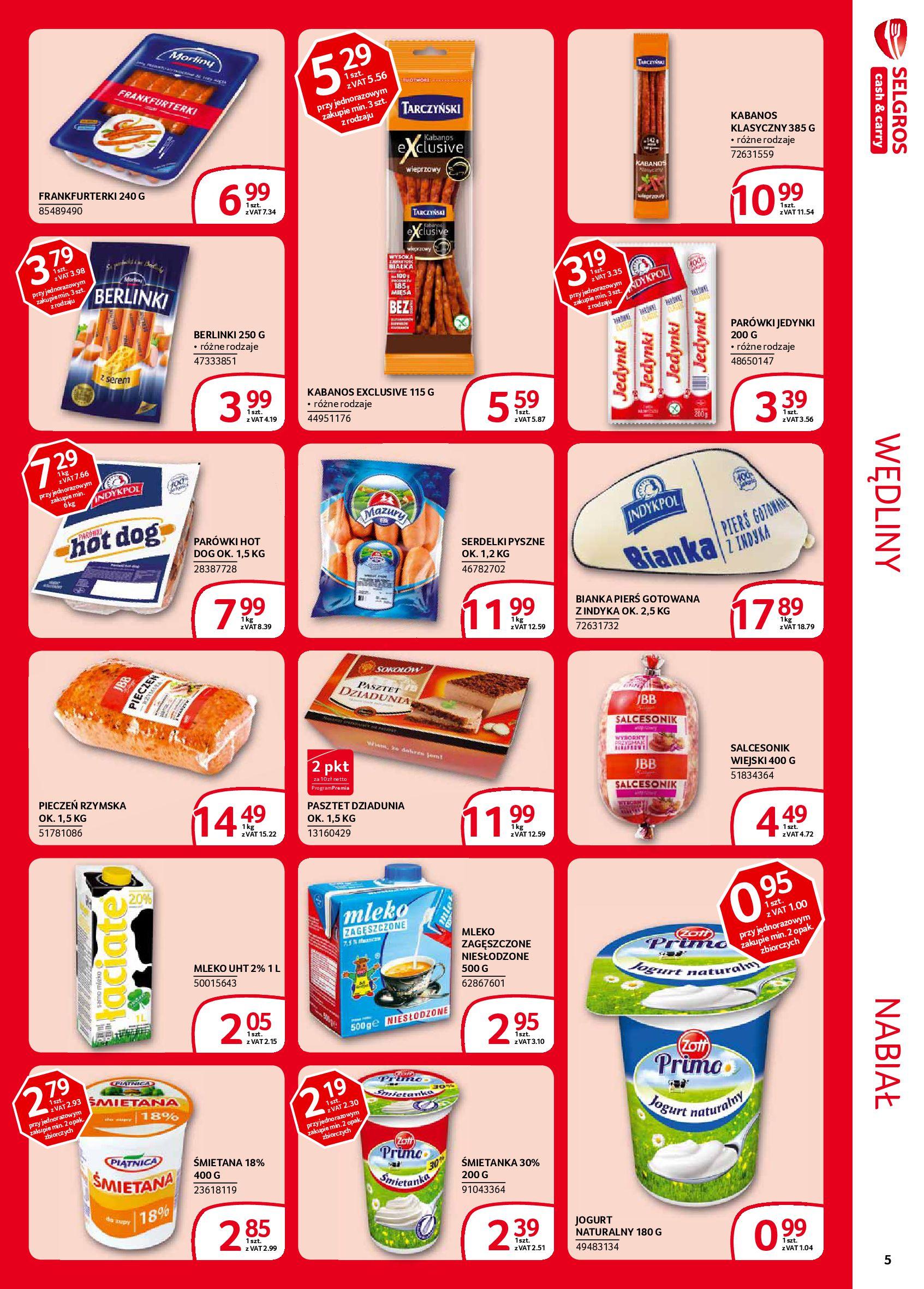 Gazetka Selgros - Extra oferta-05.02.2020-19.02.2020-page-5