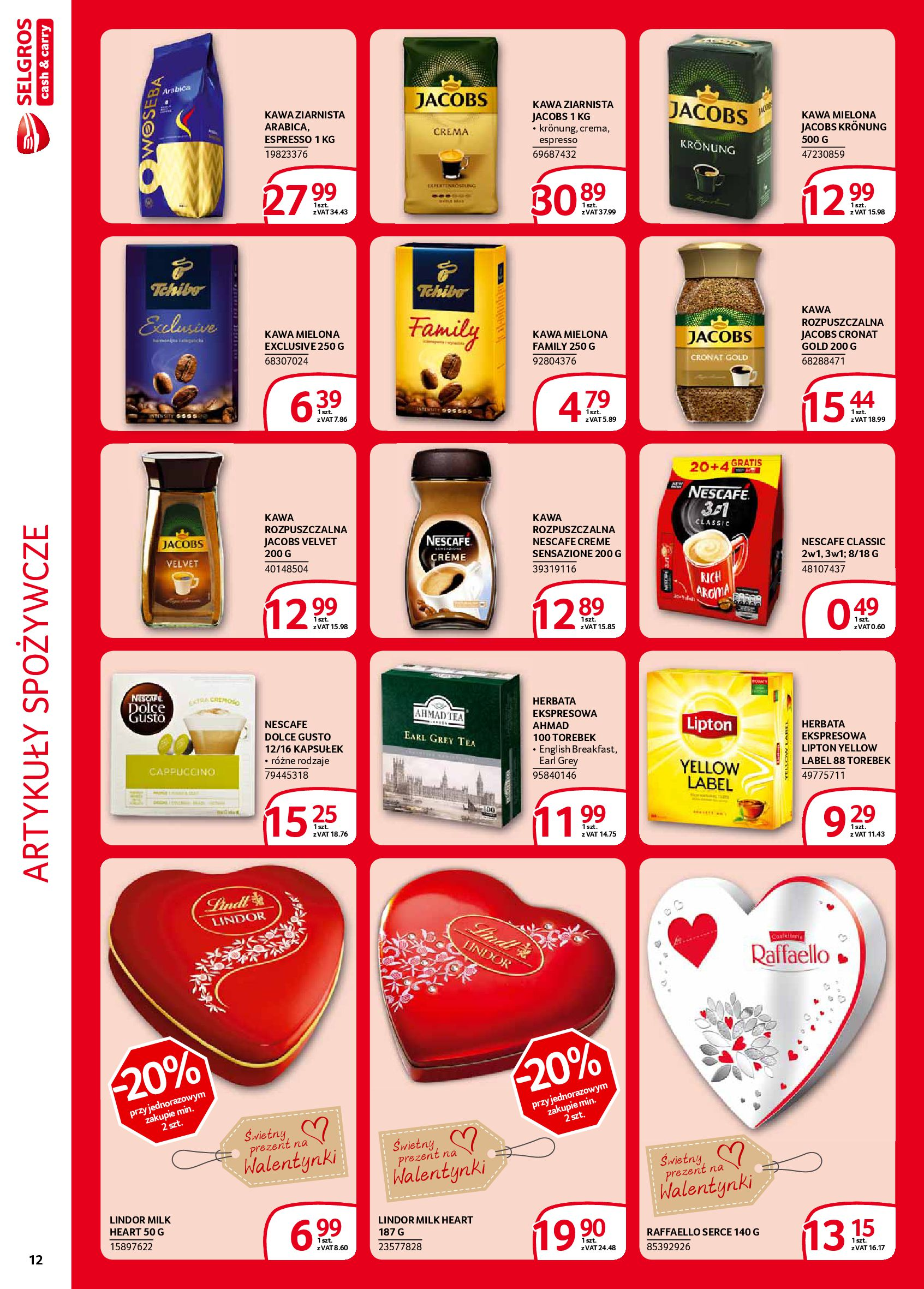Gazetka Selgros - Extra oferta-05.02.2020-19.02.2020-page-12