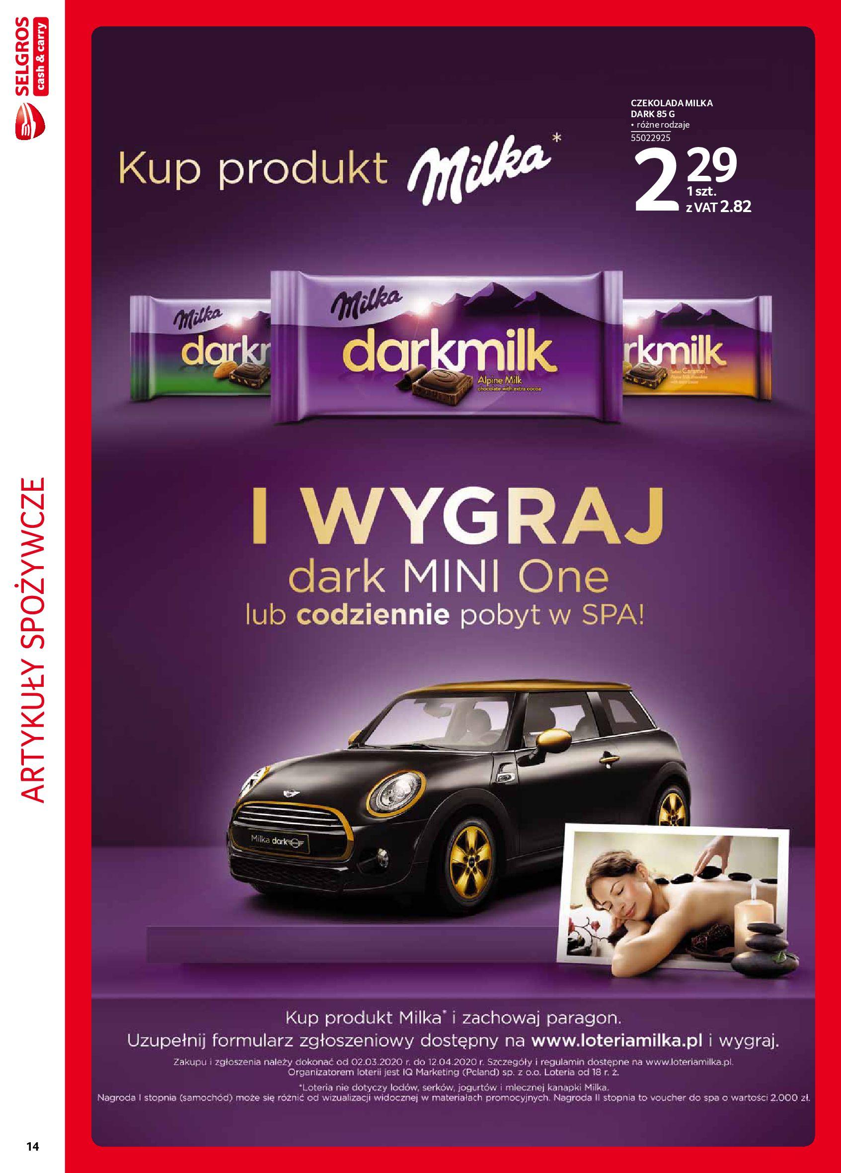 Gazetka Selgros - Extra oferta-05.02.2020-19.02.2020-page-14