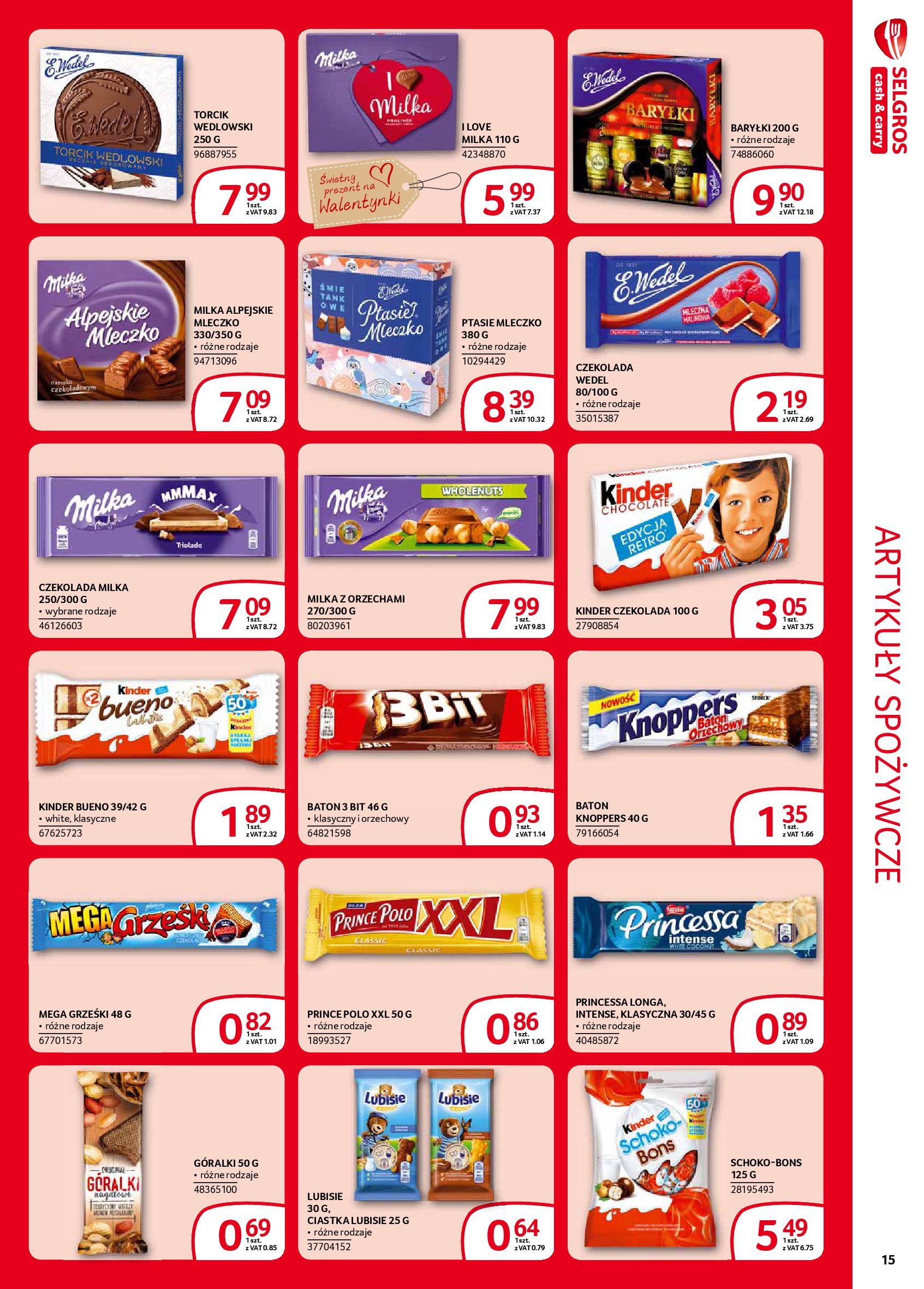 Gazetka Selgros - Extra oferta-05.02.2020-19.02.2020-page-15