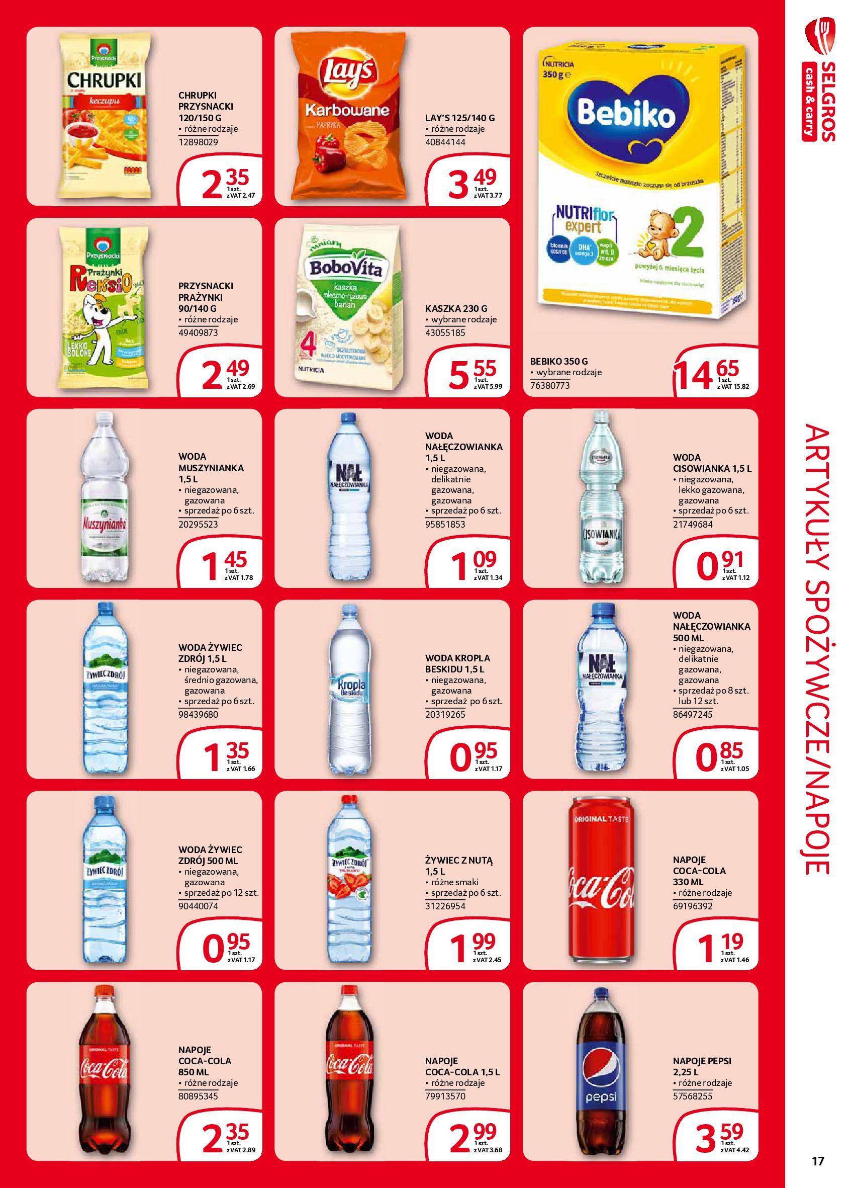 Gazetka Selgros - Extra oferta-05.02.2020-19.02.2020-page-17