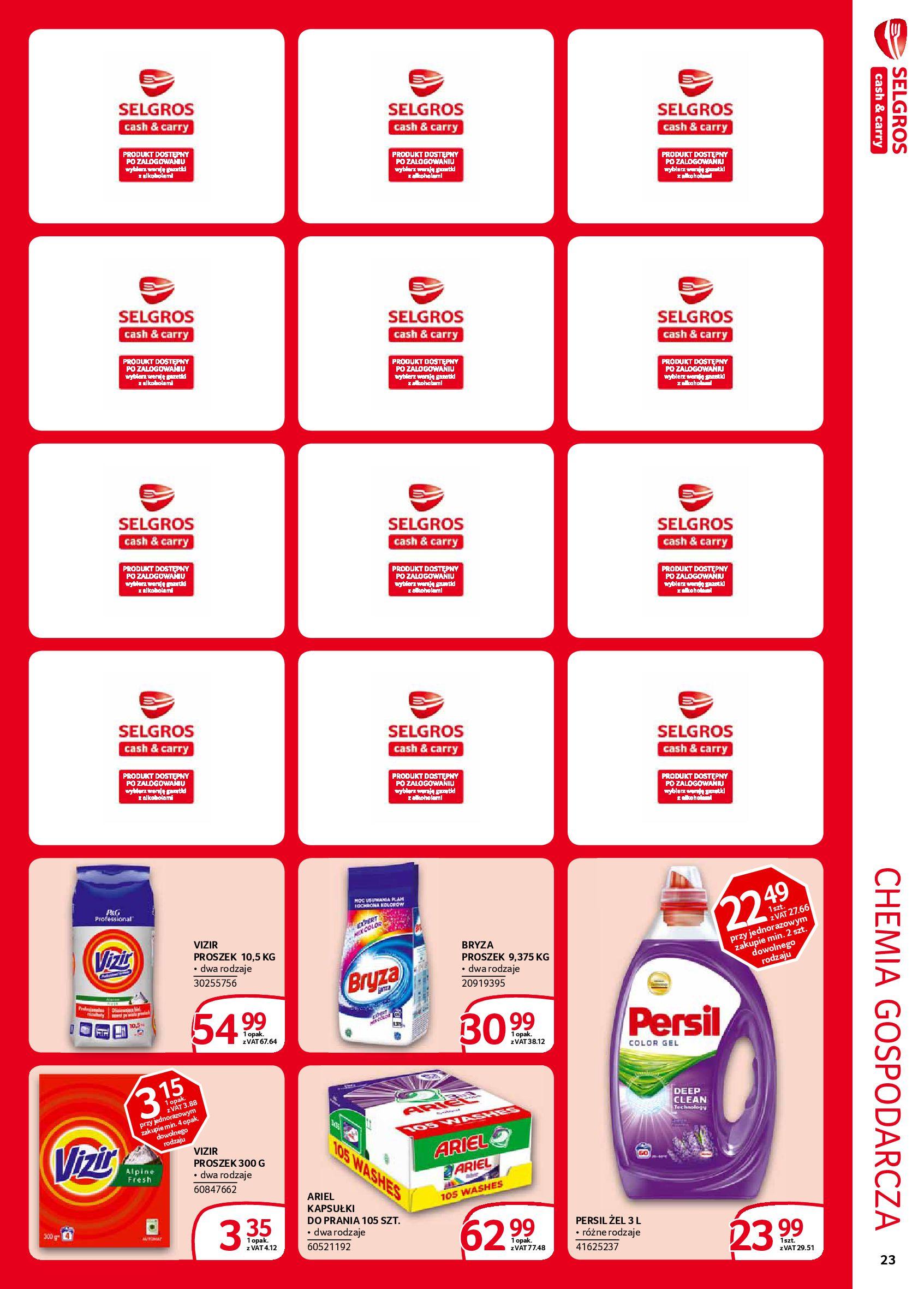 Gazetka Selgros - Extra oferta-05.02.2020-19.02.2020-page-23