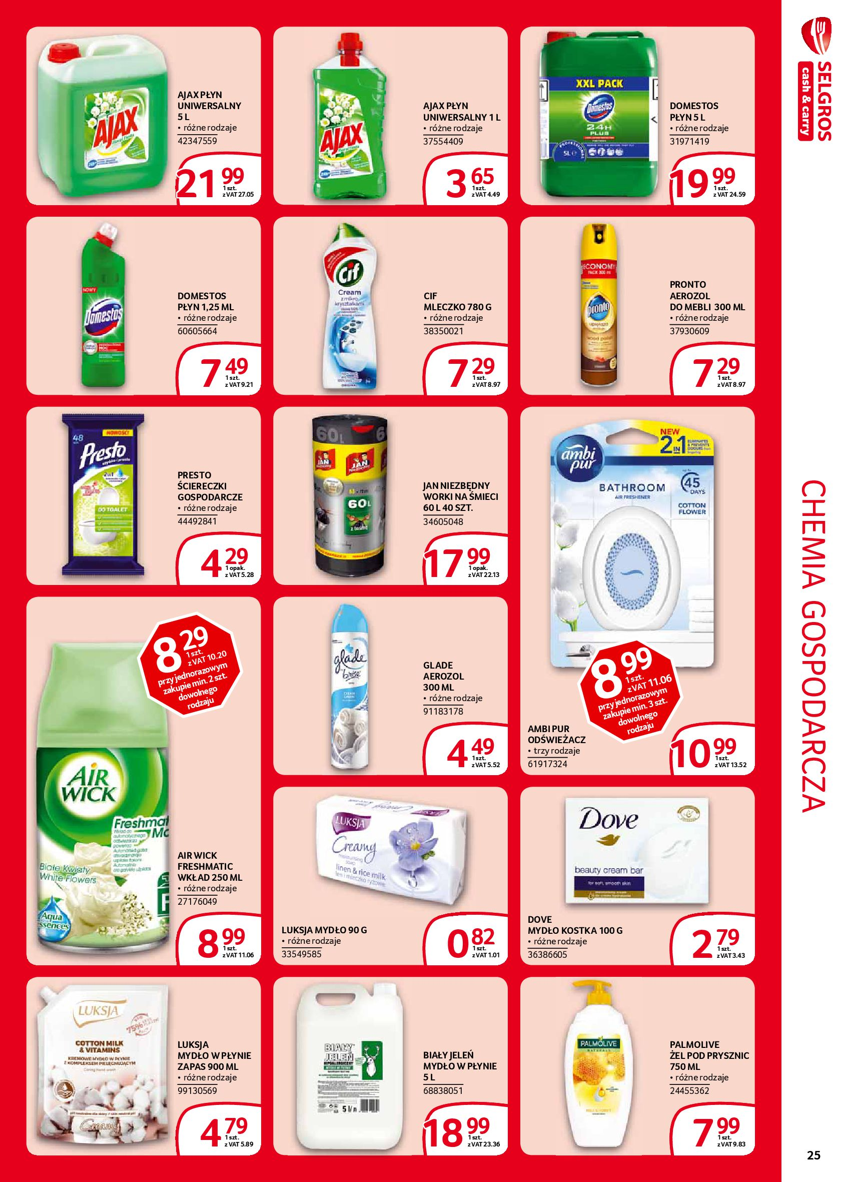 Gazetka Selgros - Extra oferta-05.02.2020-19.02.2020-page-25