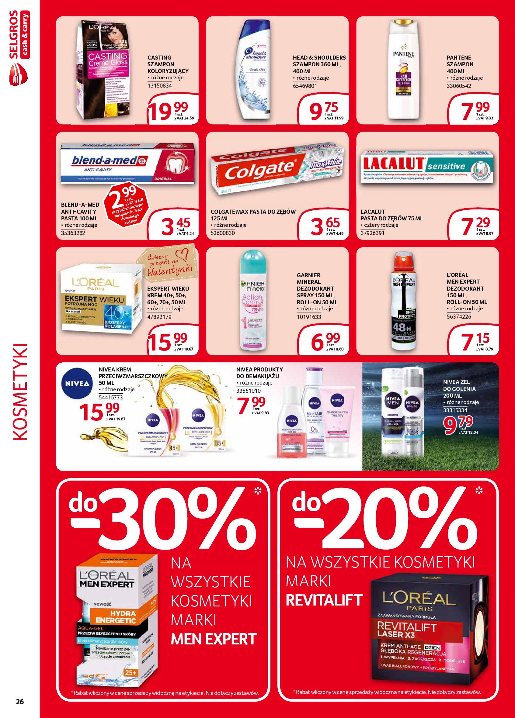 Gazetka Selgros - Extra oferta-05.02.2020-19.02.2020-page-26