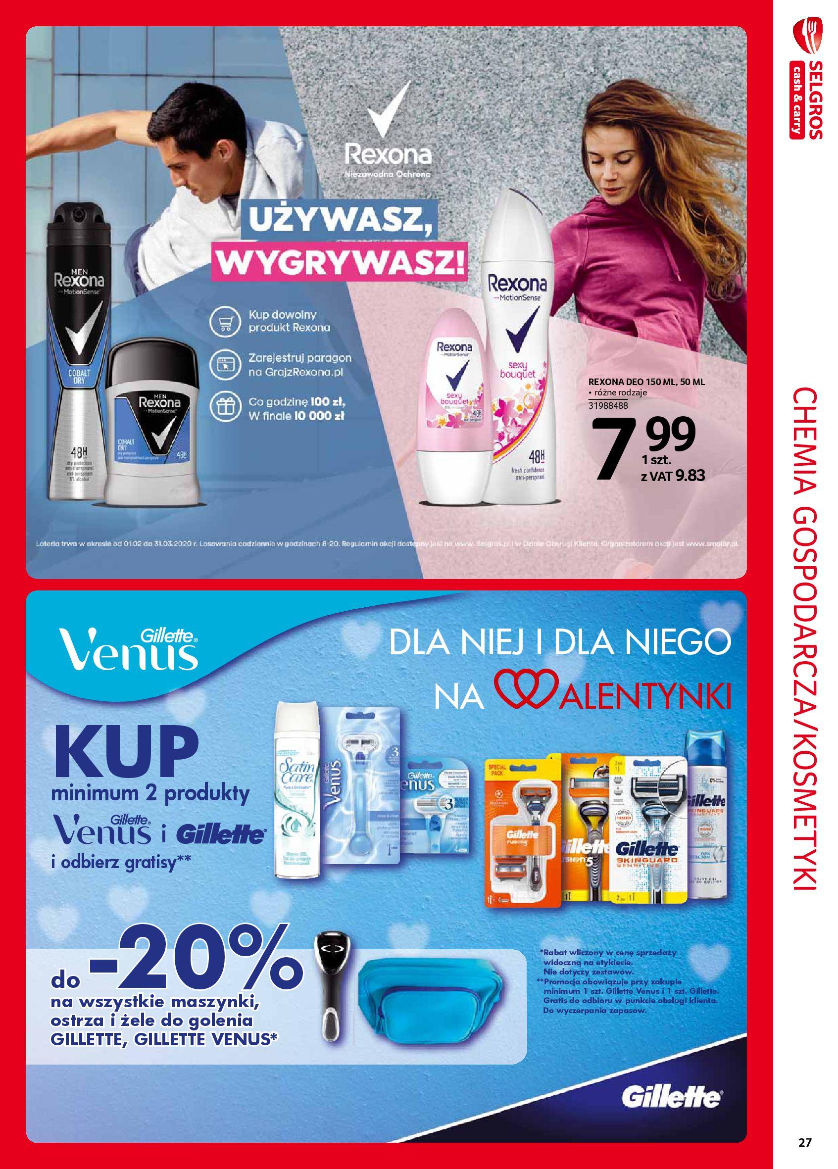Gazetka Selgros - Extra oferta-05.02.2020-19.02.2020-page-27