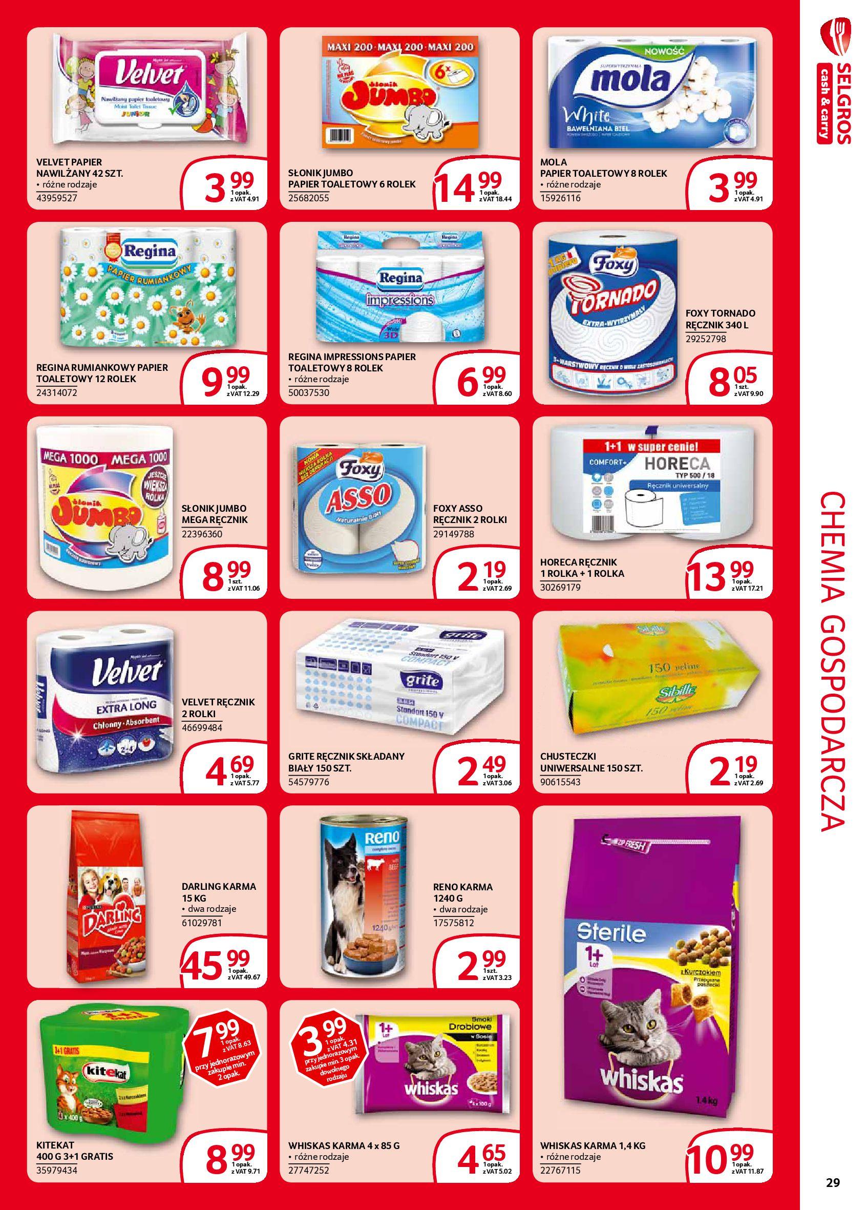 Gazetka Selgros - Extra oferta-05.02.2020-19.02.2020-page-29